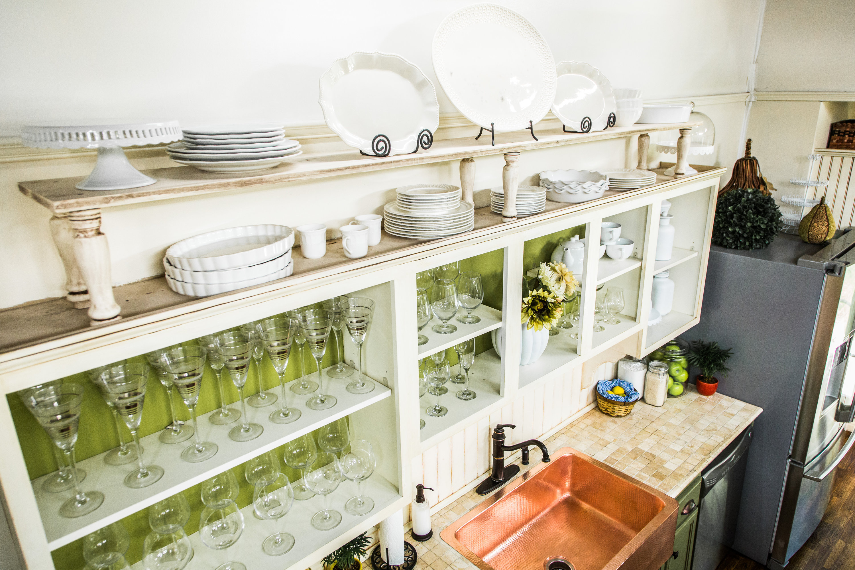 How To Home & Family DIY Kitchen Shelves for Extra Storage