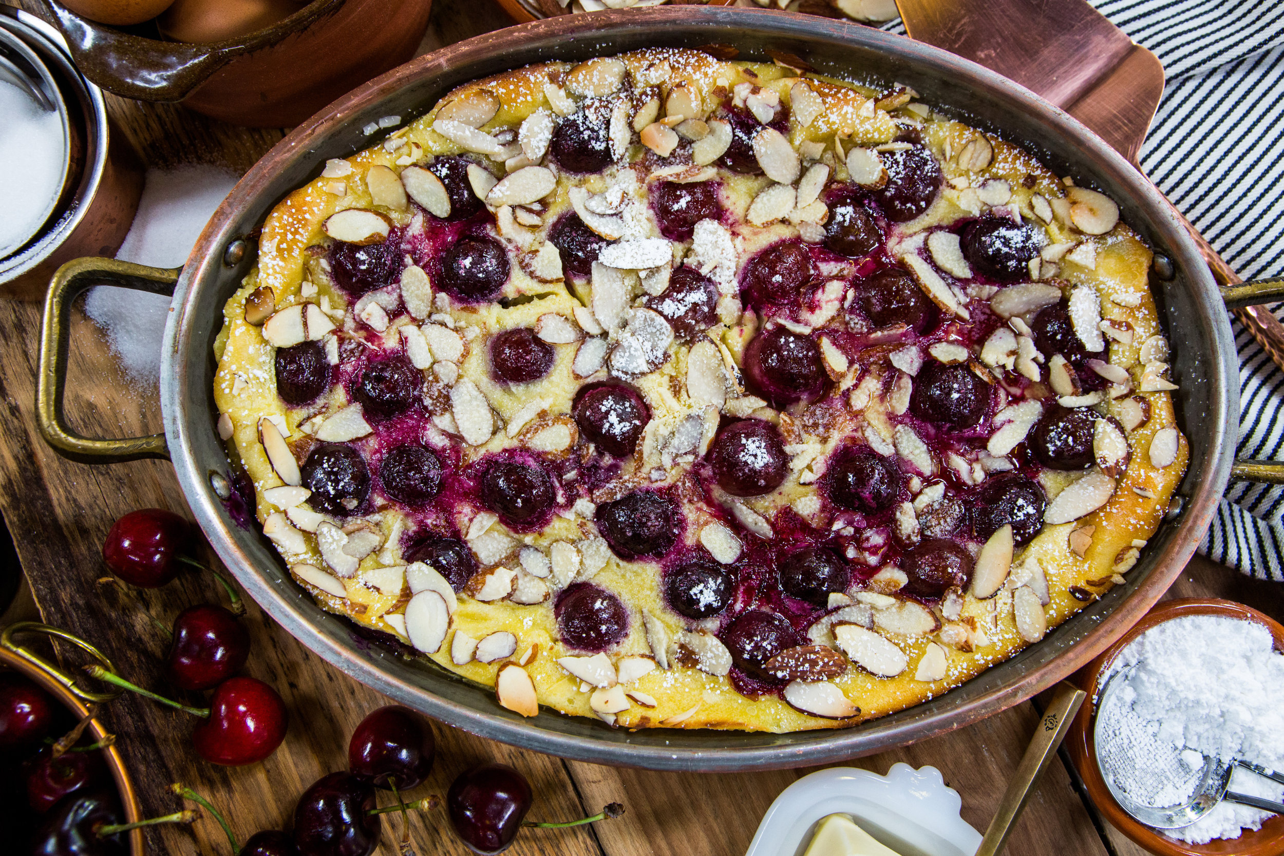 Recipe - Cherry Clafouti With Almonds | Home & Family ...