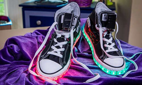 Diy Light Up Shoes With Tanya Memme Hallmark Channel