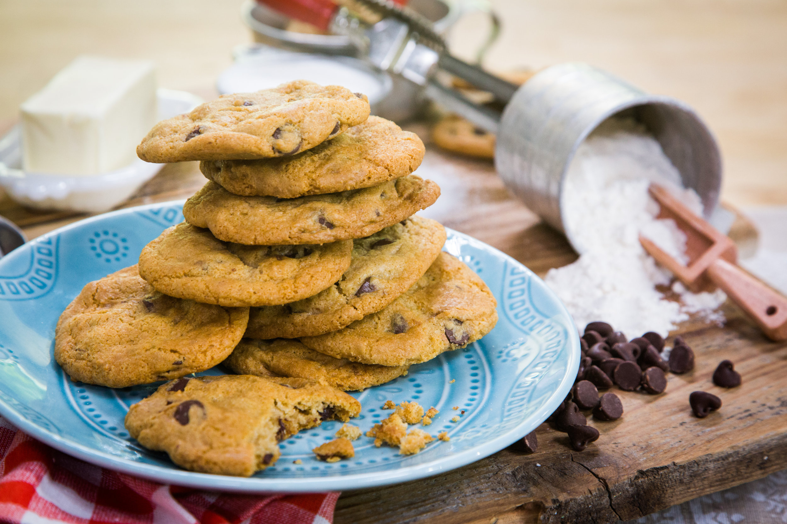 Recipe - Gluten Free Chocolate Chip Cookie Recipe - Home & Family ...
