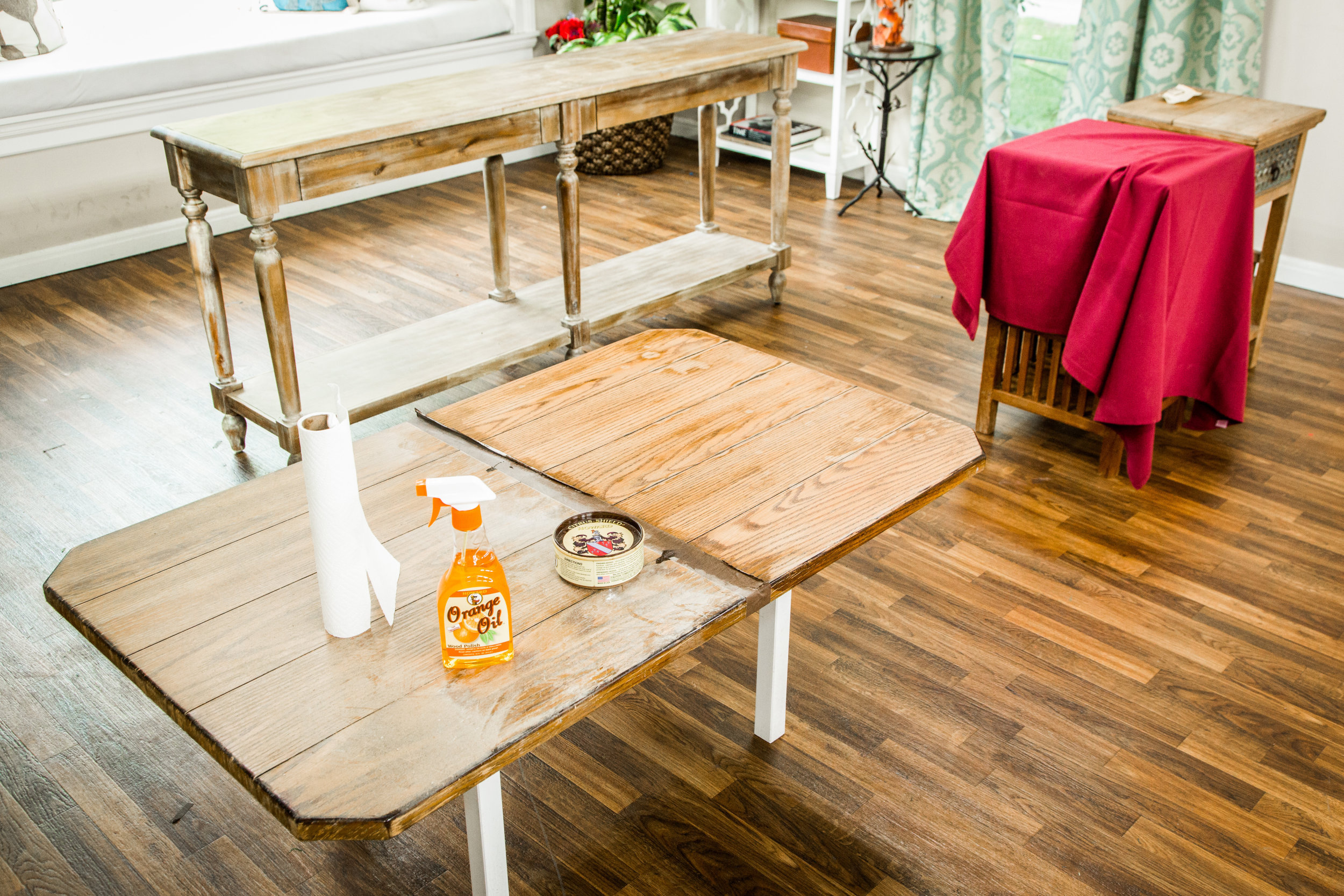 how to refinishing old tables home family hallmark channel