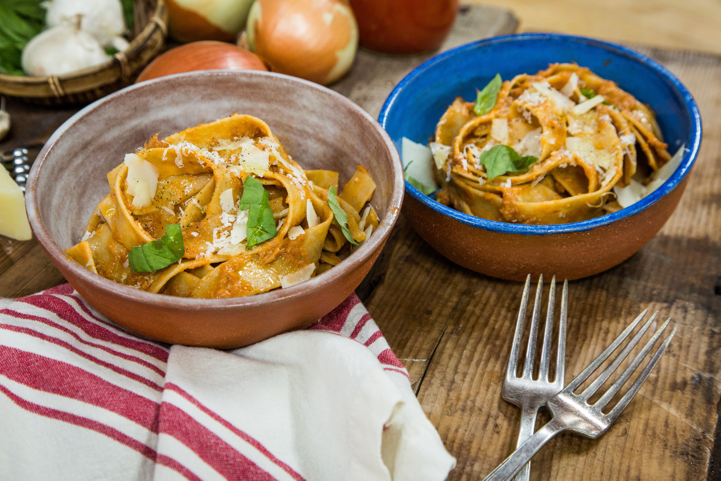 Recipes - Pork and Beef Ragu | Home & Family | Hallmark Channel