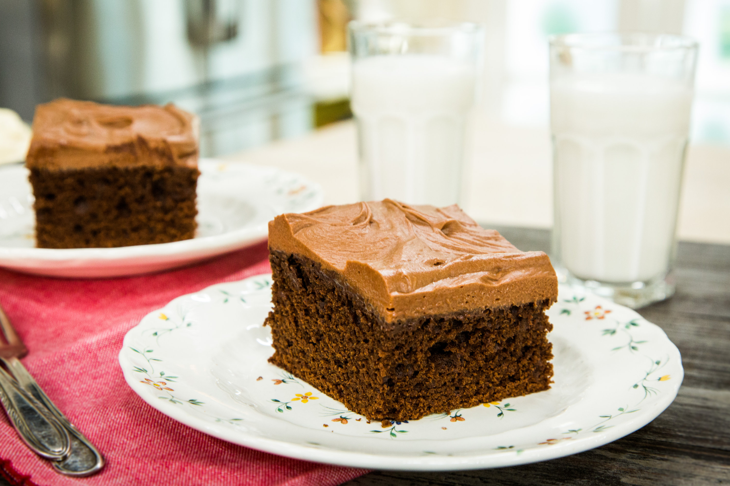 Recipes Old Fashioned Chocolate Mayonnaise Cake Hallmark Channel
