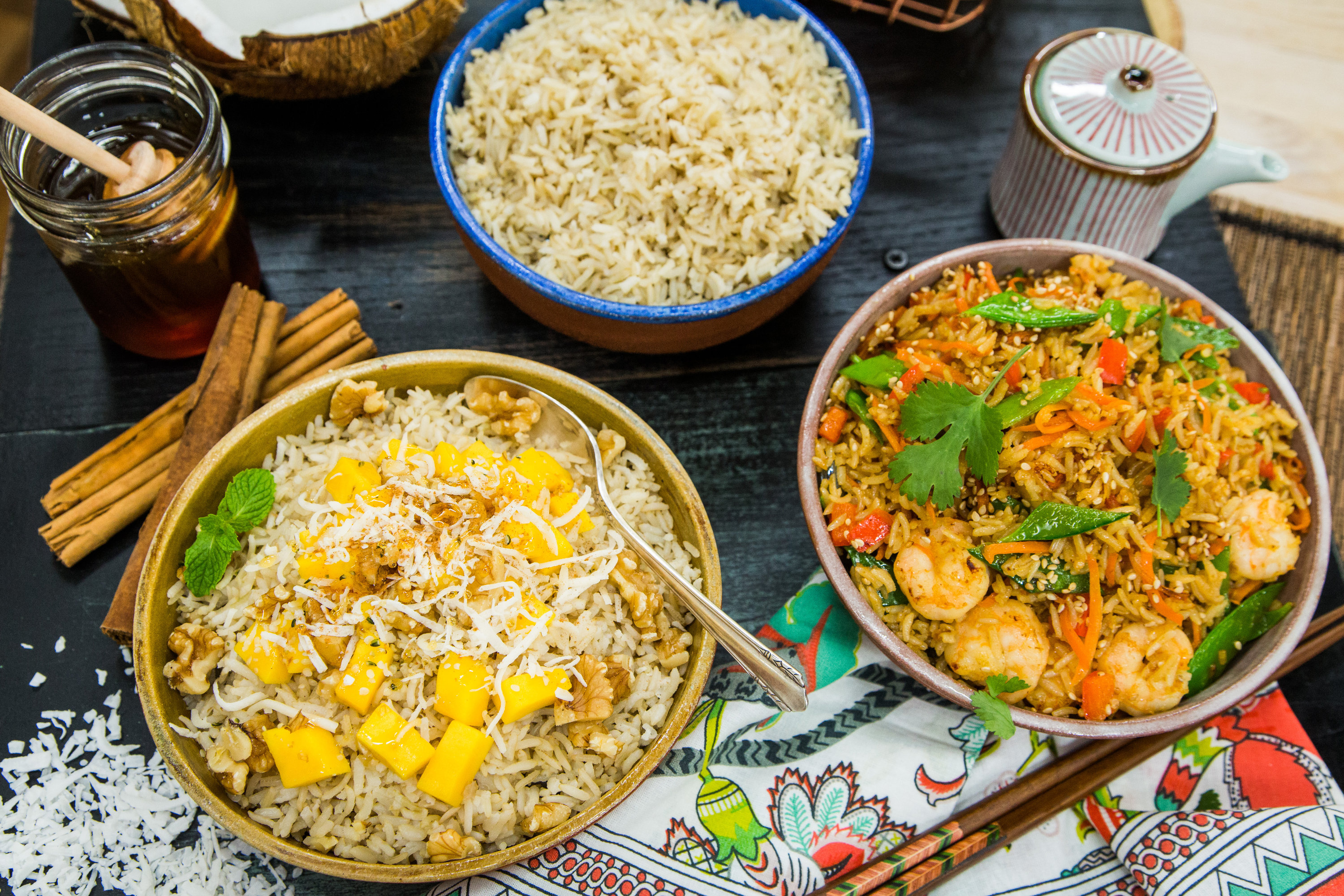 Recipes home family coconut rice dishes hallmark channel - Six alternative uses of rice at home ...
