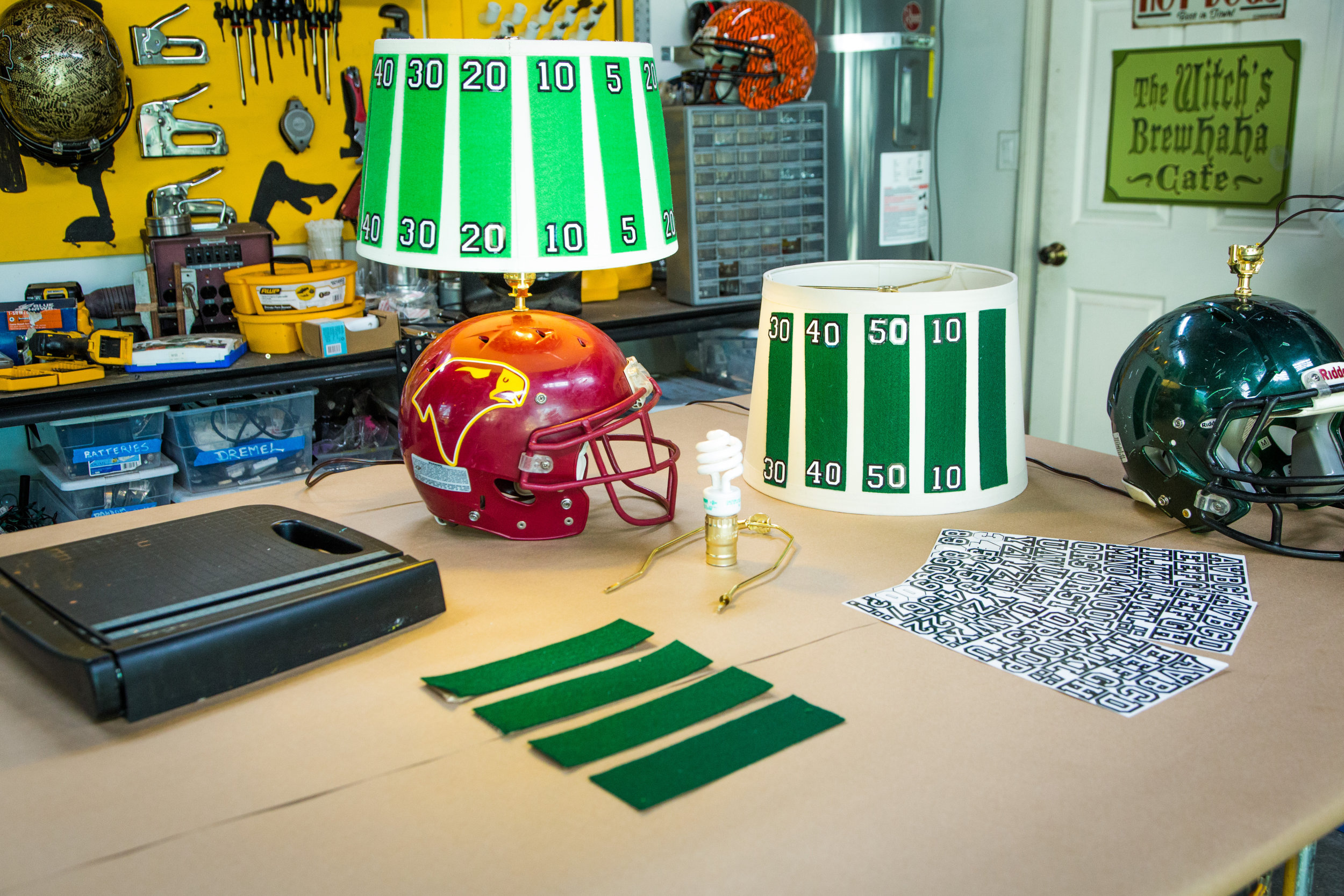 DIY Football Lamp | Home & Family | Hallmark Channel