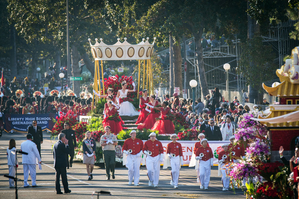 128th Rose Parade About Hallmark Channel
