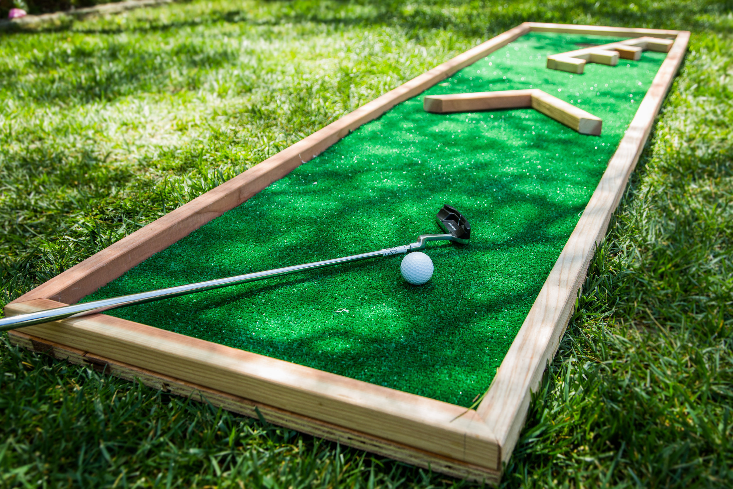 Miniature Golf Carpet Ideas