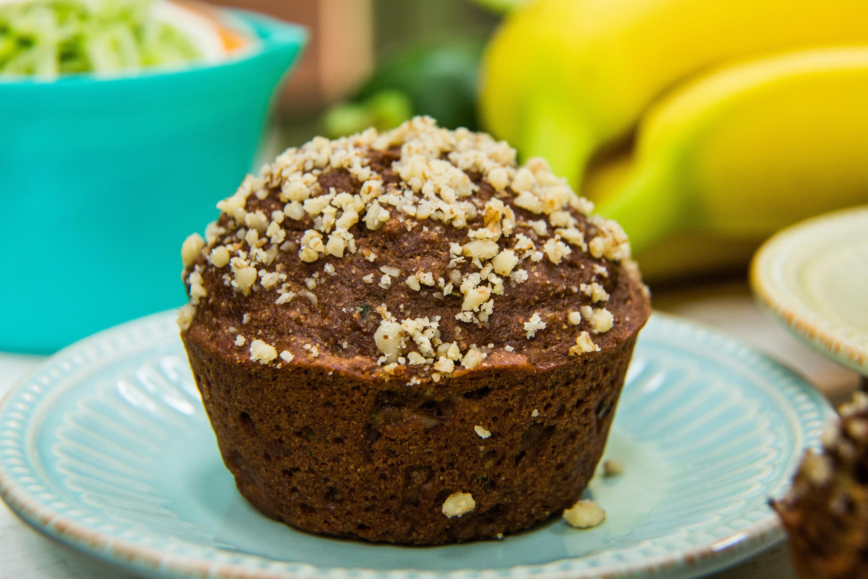 Recipes - Chocolate Zucchini Muffins   Home & Family   Hallmark ...