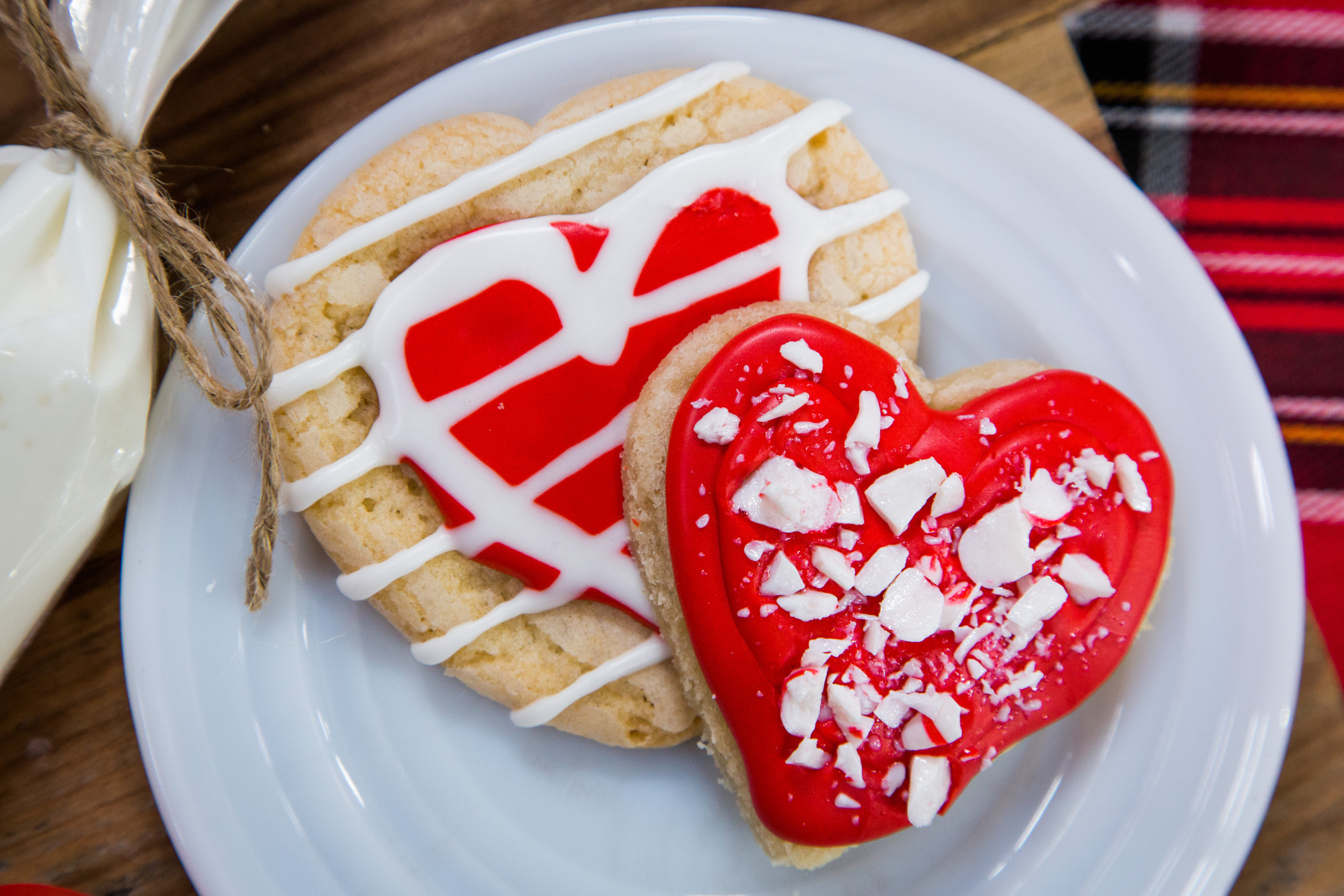 Recipe holiday heart shaped sugar cookies home
