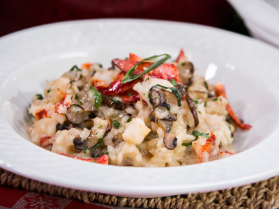 Lobster and Mushroom Risotto | Hallmark Channel