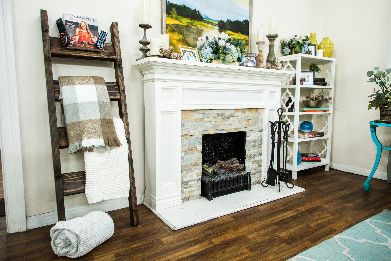 How to diy storage ladder hallmark channel for Family home storage