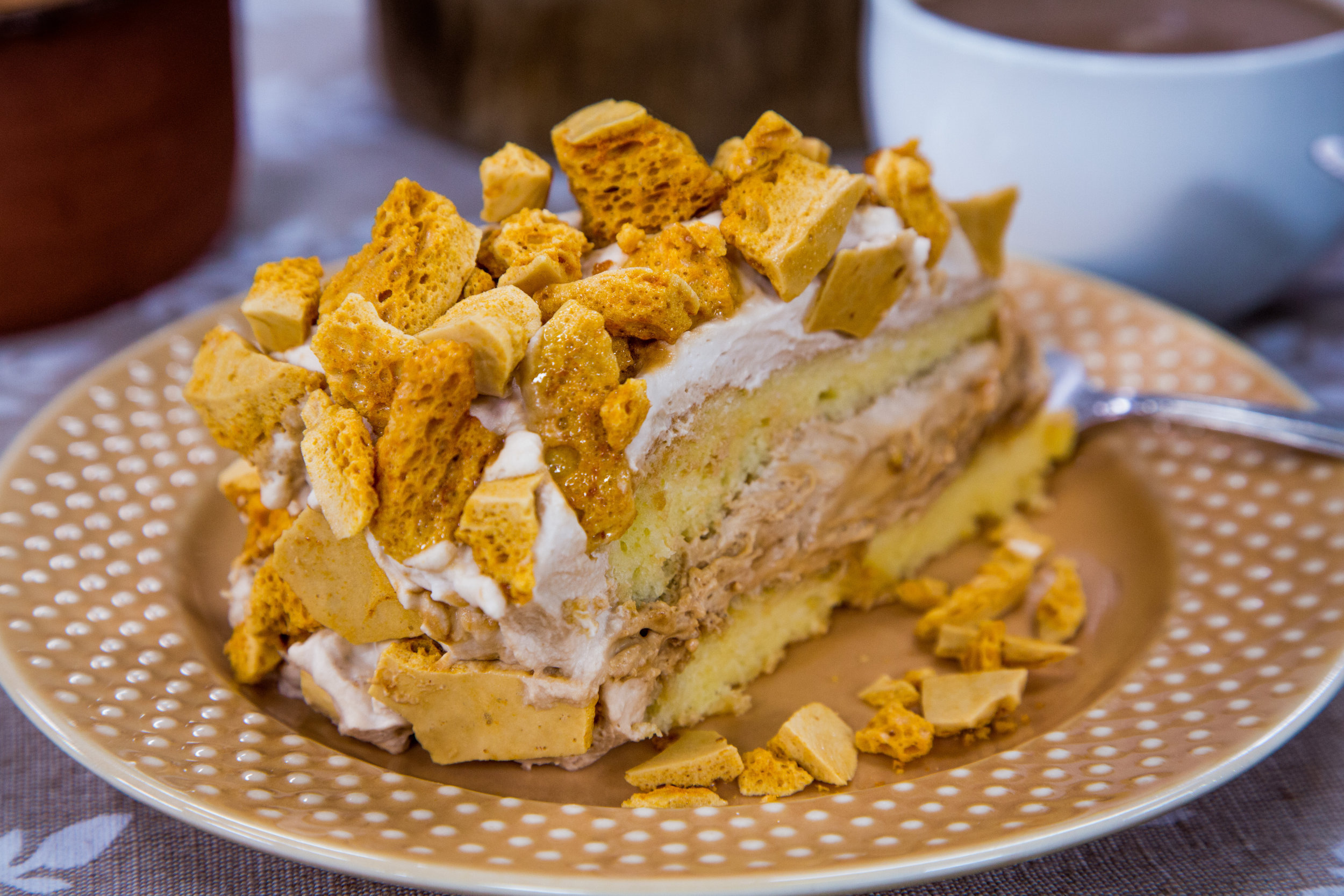 Coffee Crunch Cake Los Angeles