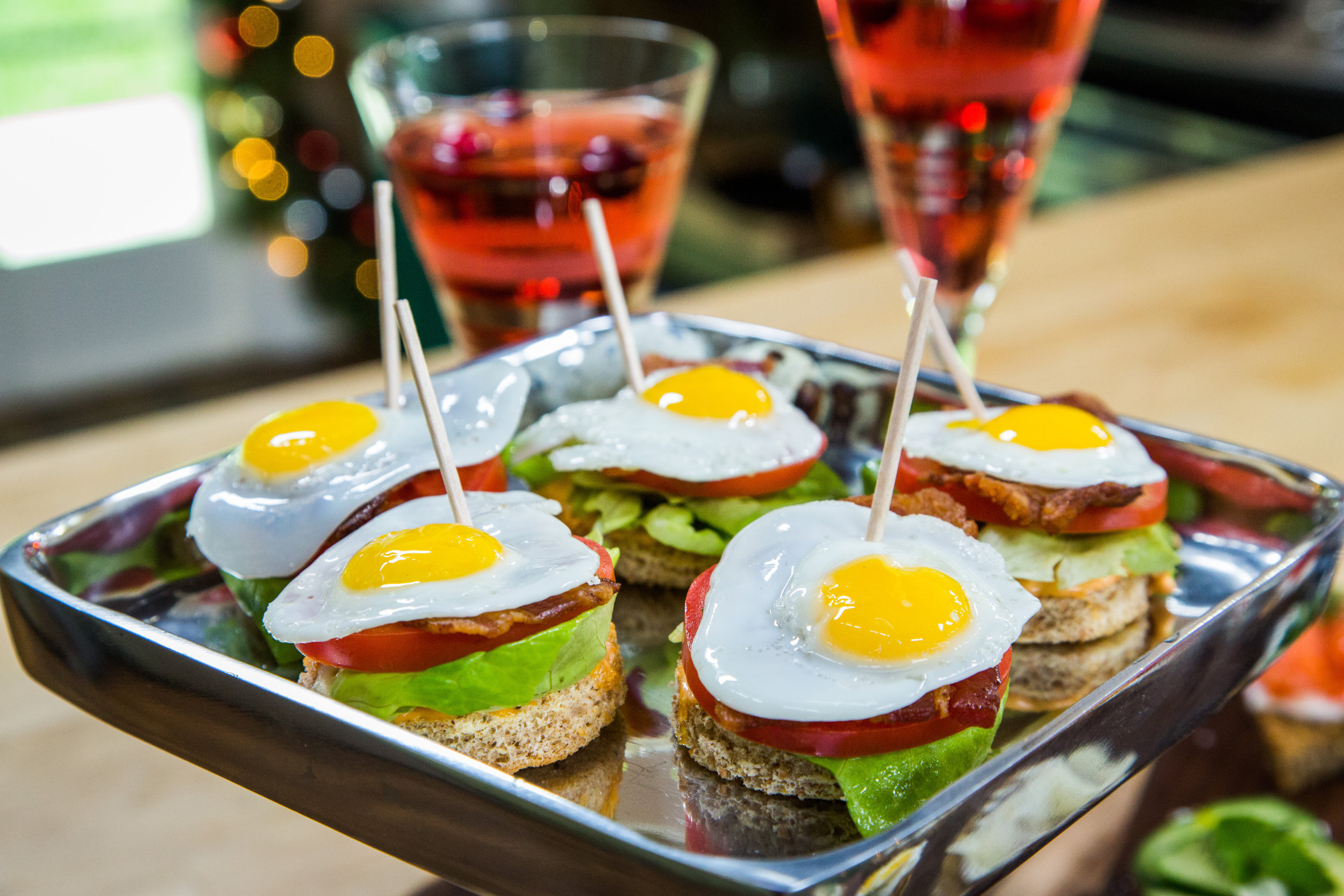 Christmas Cocktail Party Menu Ideas Part - 44: Recipe - Christmas Appetizers And Cocktail - Home U0026 Family | Hallmark  Channel