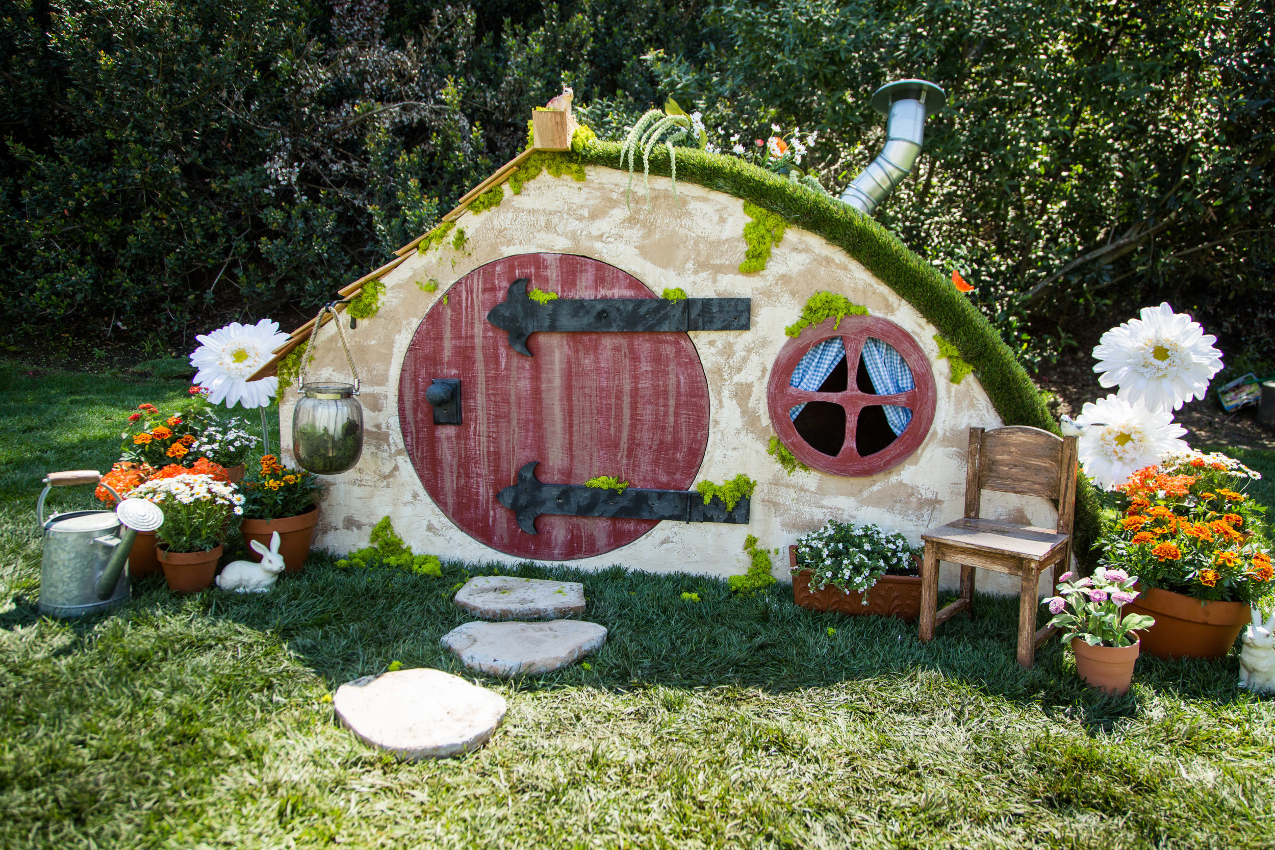 how to diy hobbit hole playhouse home u0026 family hallmark channel