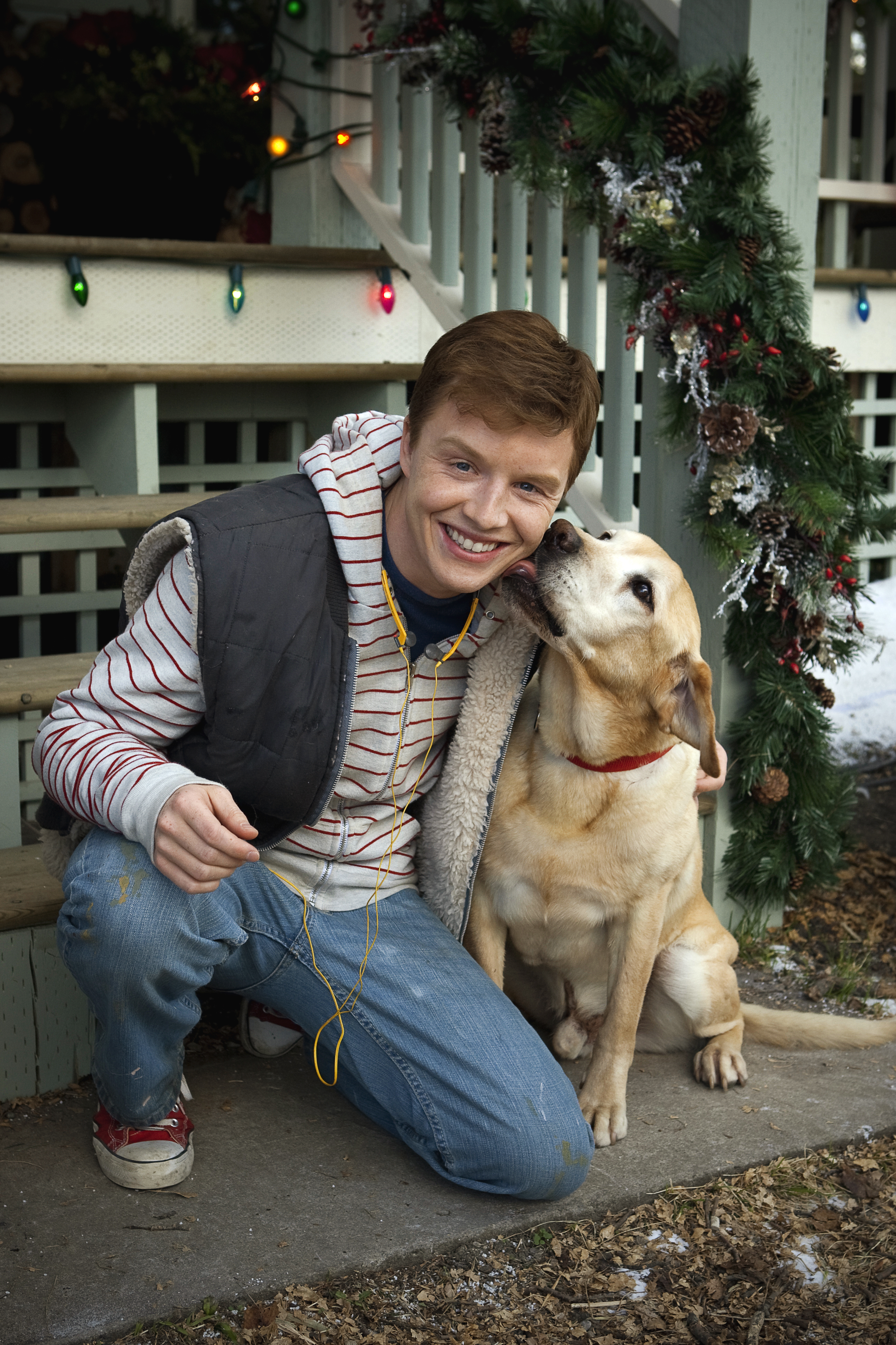 Noel Fisher on A Dog Named Christmas | Hallmark Movies and ...