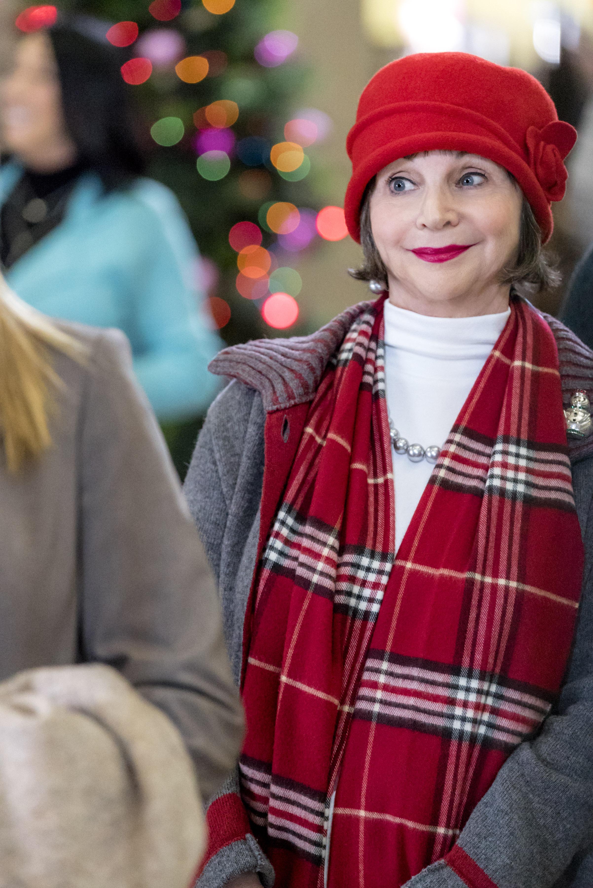 Cindy Williams as The Angel on A Dream of Christmas | Hallmark Channel