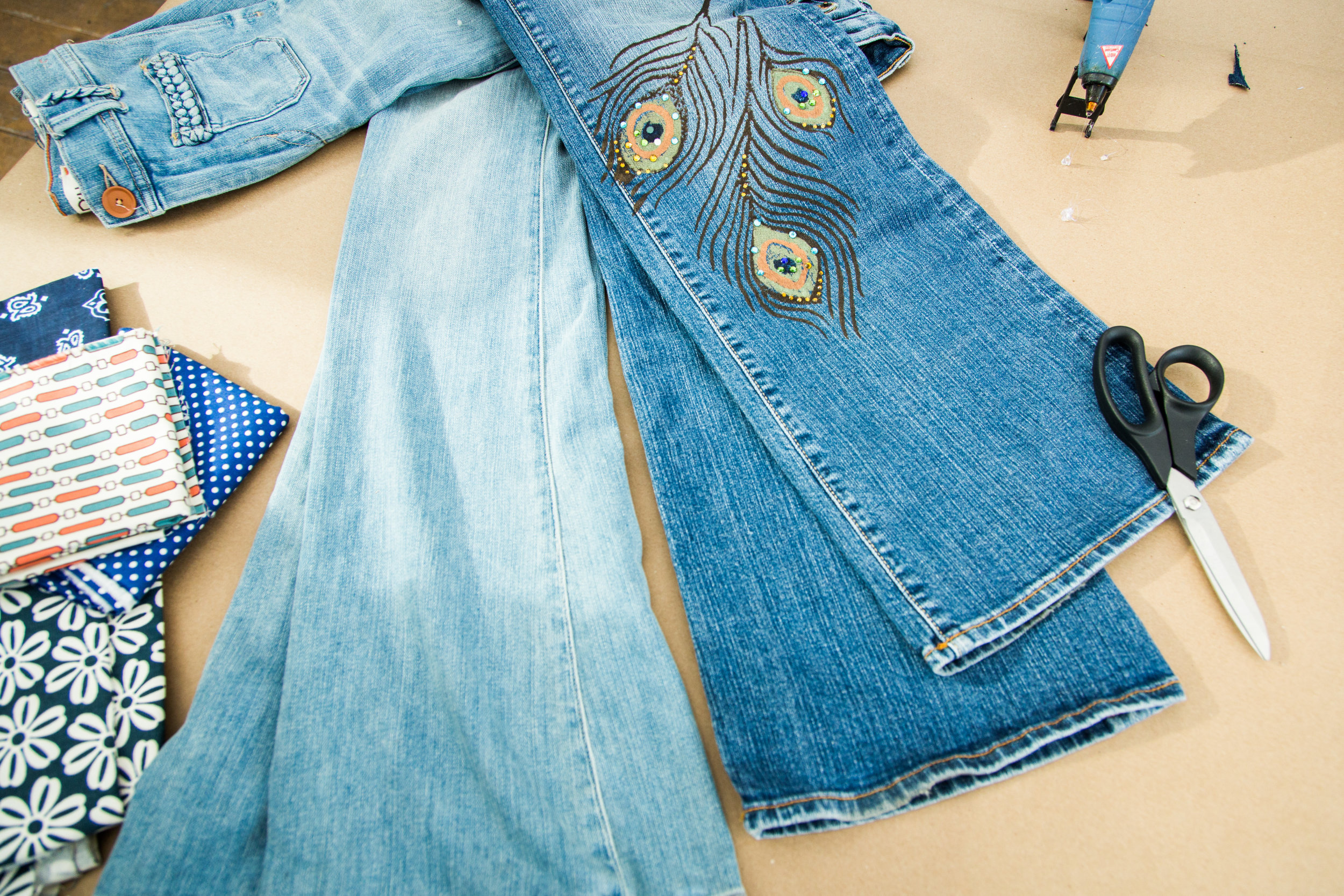How To - DIY Flare Jeans | Home & Family | Hallmark Channel