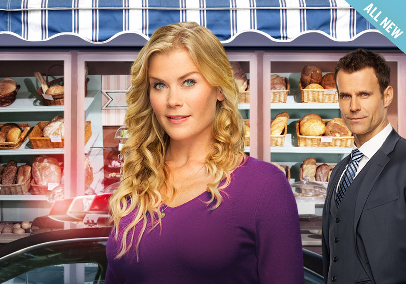 Murder she baked a chocolate chip cookie mystery for Hallmark movies and mysteries channel