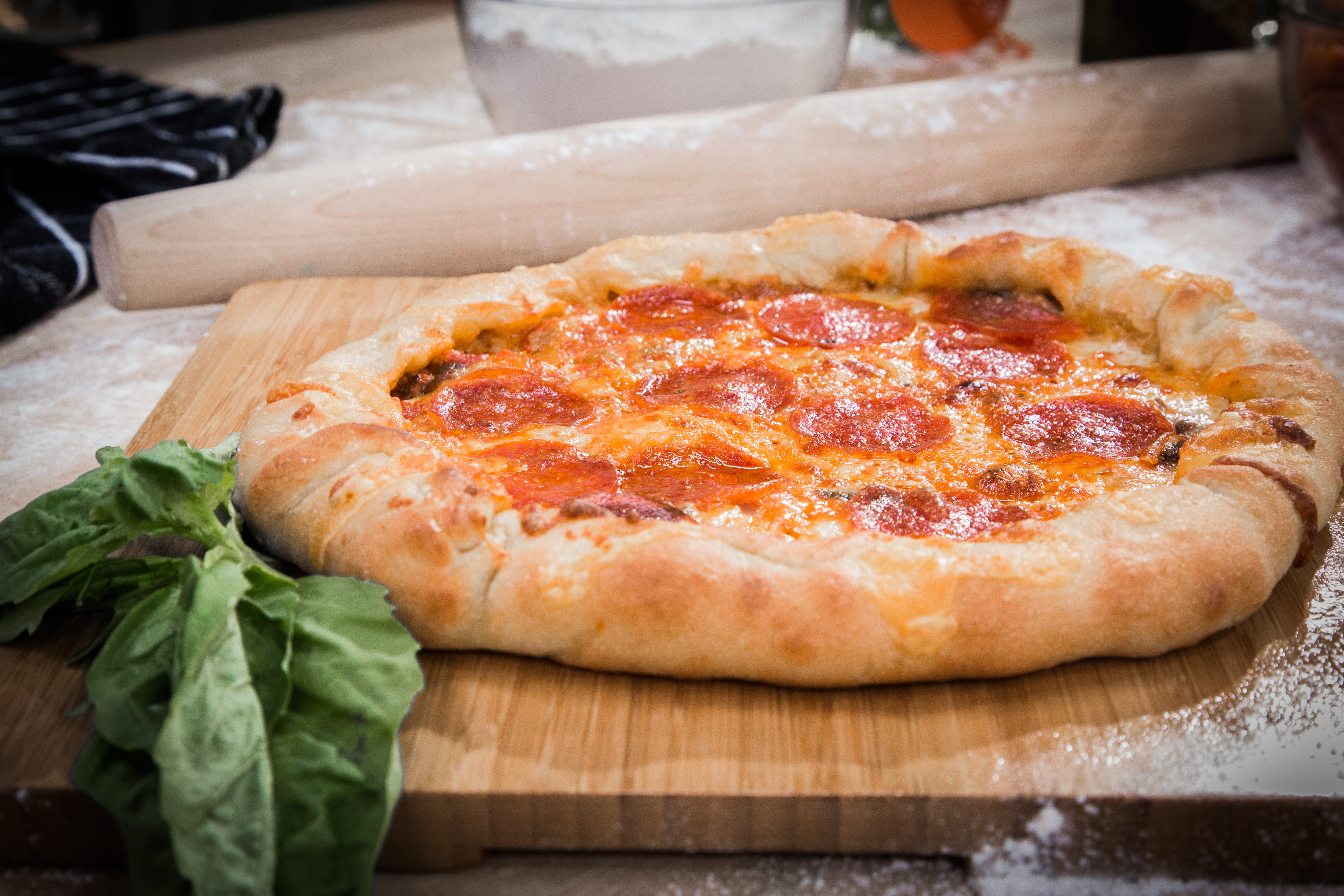 Cristinas quick and easy pizza dough recipe hallmark channel forumfinder Images