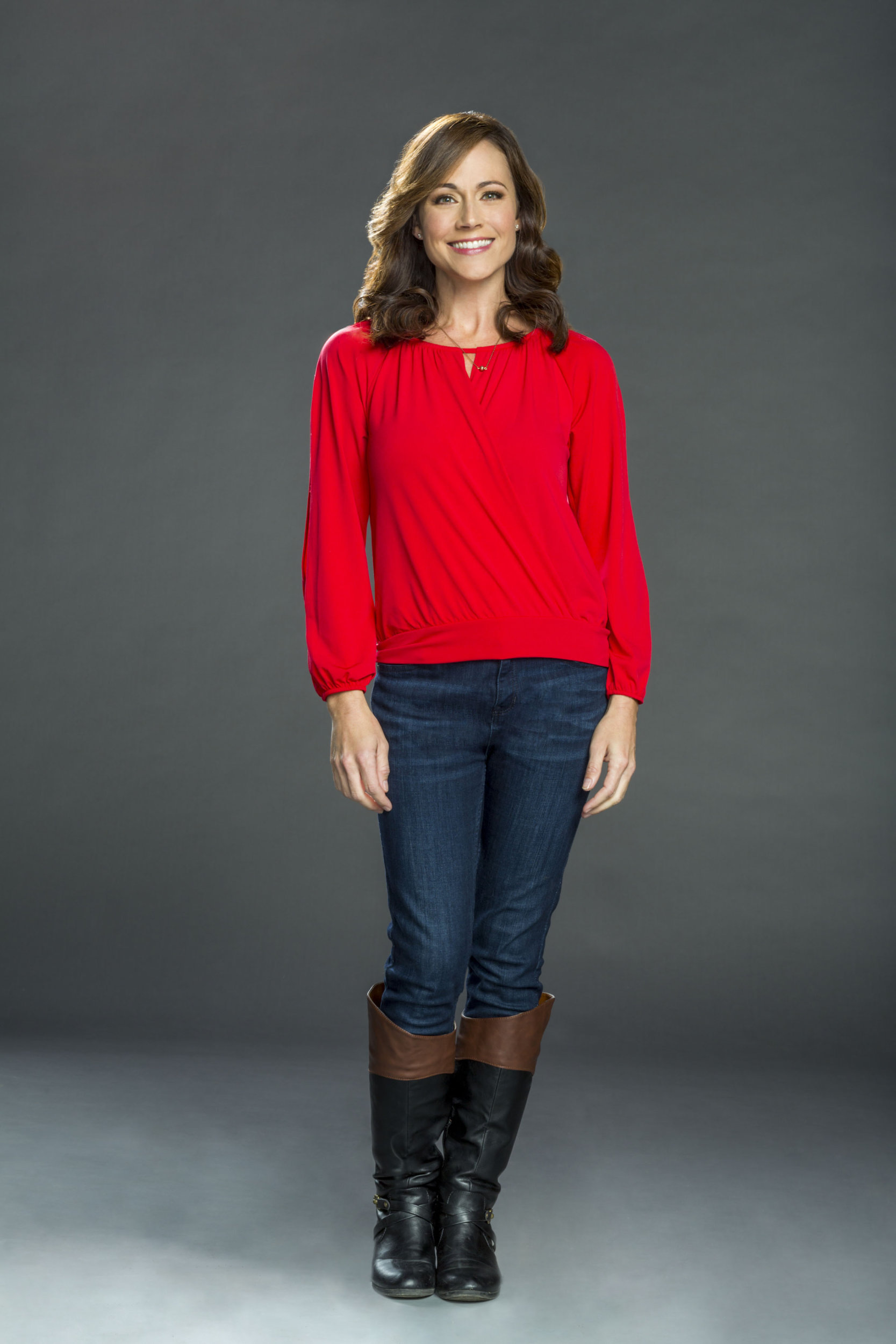 Nikki DeLoach as Jules Cooper on Christmas Land | Hallmark Channel