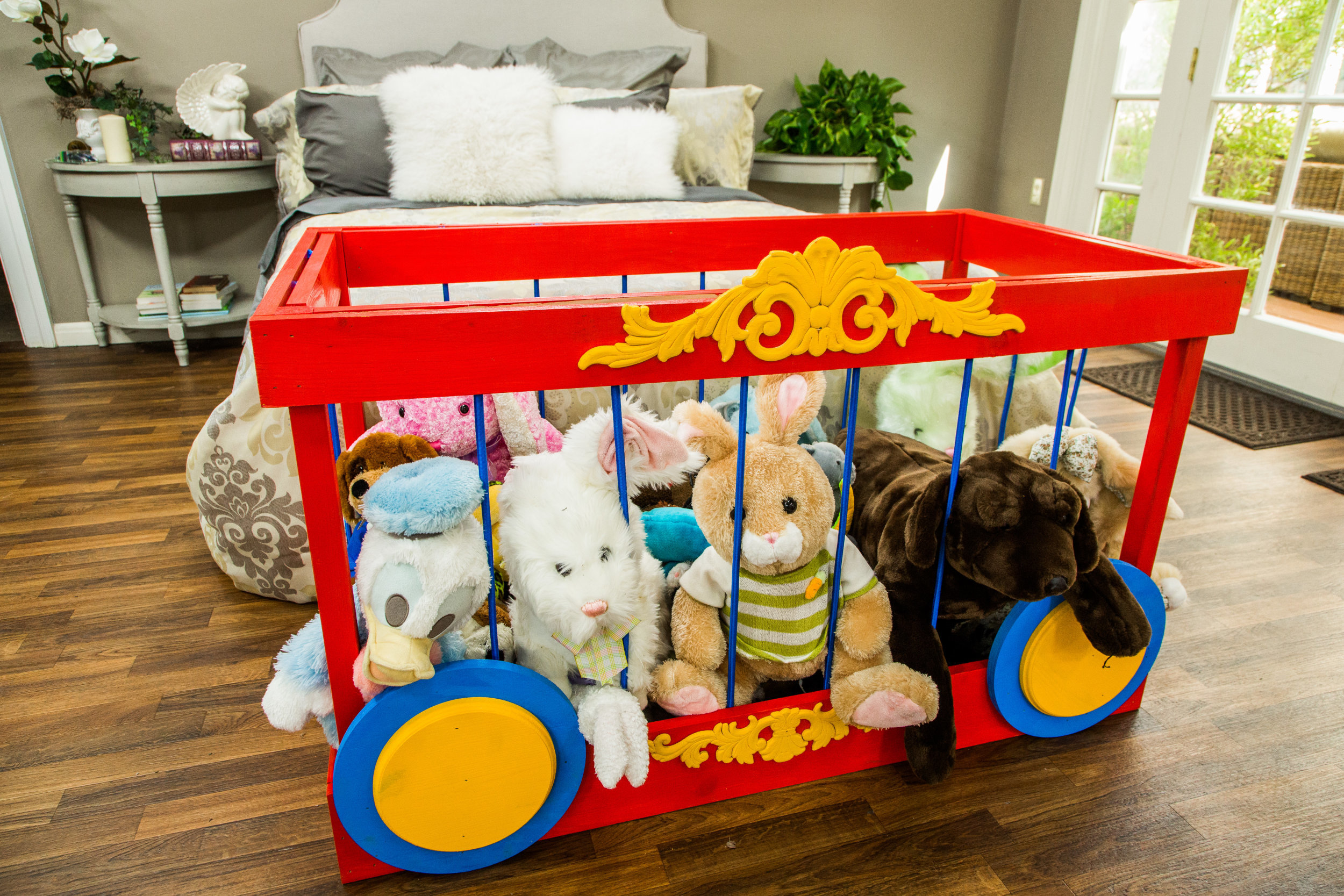 How To Diy Stuffed Animal Storage Home Amp Family