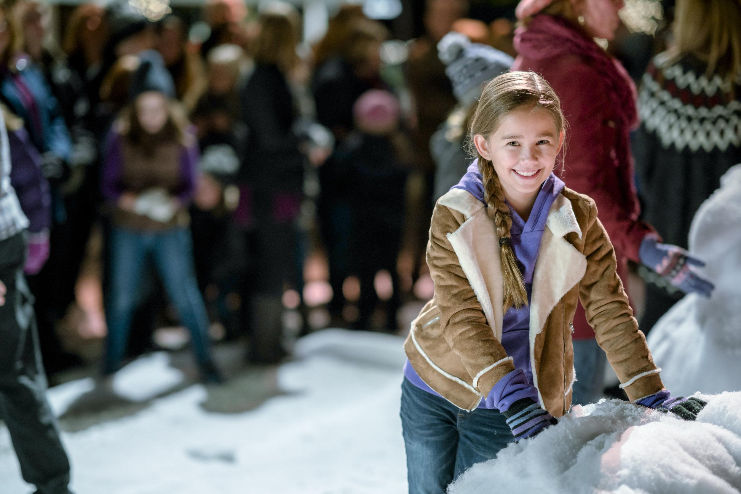 Brooklyn Rae Silzer as Sophie on Christmas in Homestead | Hallmark ...