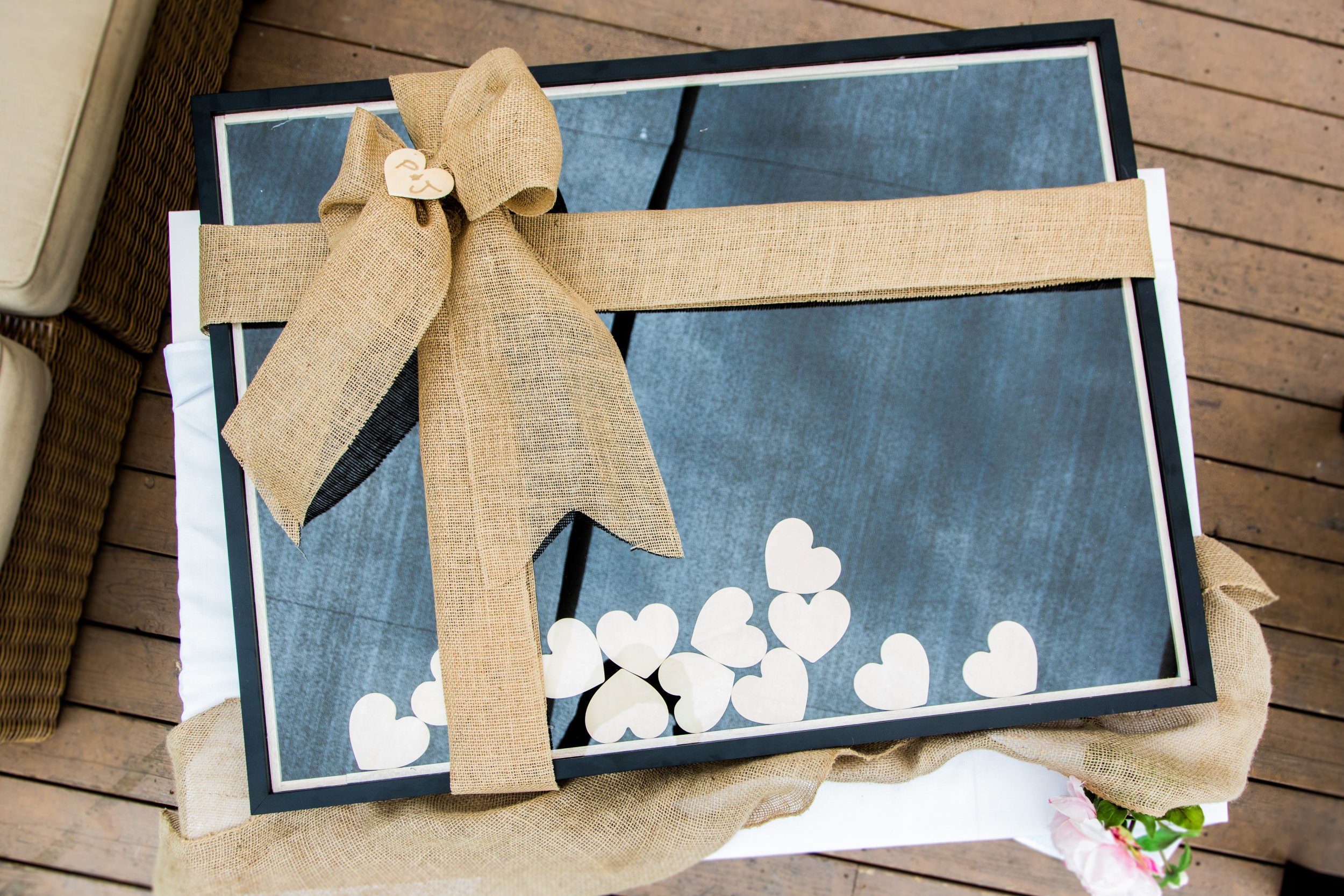 How - To - Ken Wingard\'s Wood Heart Guest Book | Home & Family ...
