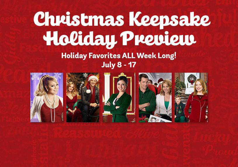 Christmas keepsake holiday preview hallmark channel for Hallmark christmas in july 2017 schedule
