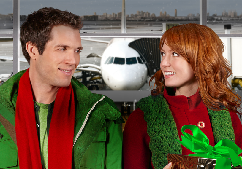 a woman travels to her fiancs hometown alone to meet her future in laws for the first time upon her arrival at the airport she meets the brother of her - Hallmark Christmas Movies 2013