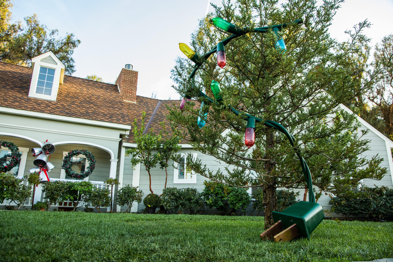 Paige hemmis diy giant christmas lights home family