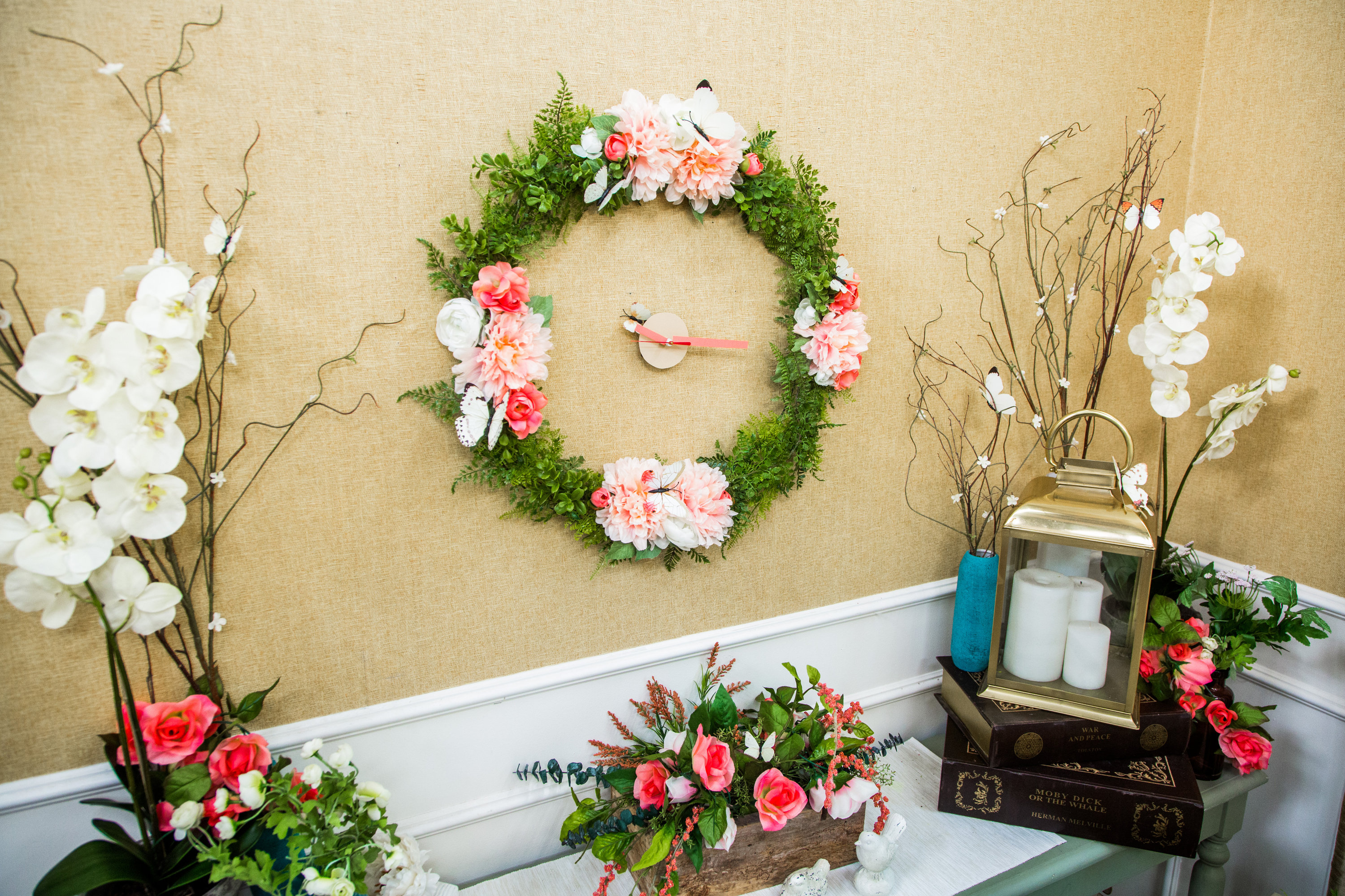 How To - DIY Floral Wall Clock | Hallmark Channel
