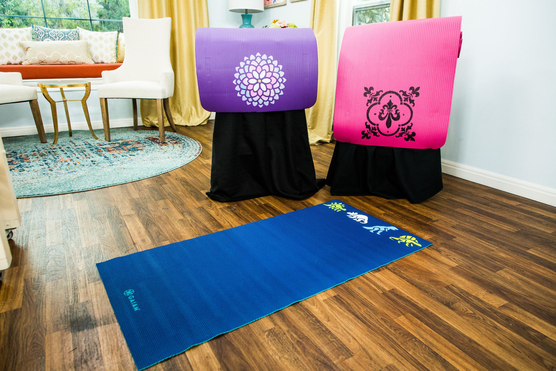 yoga mats welcome project side mystique mat pink om dark cheap