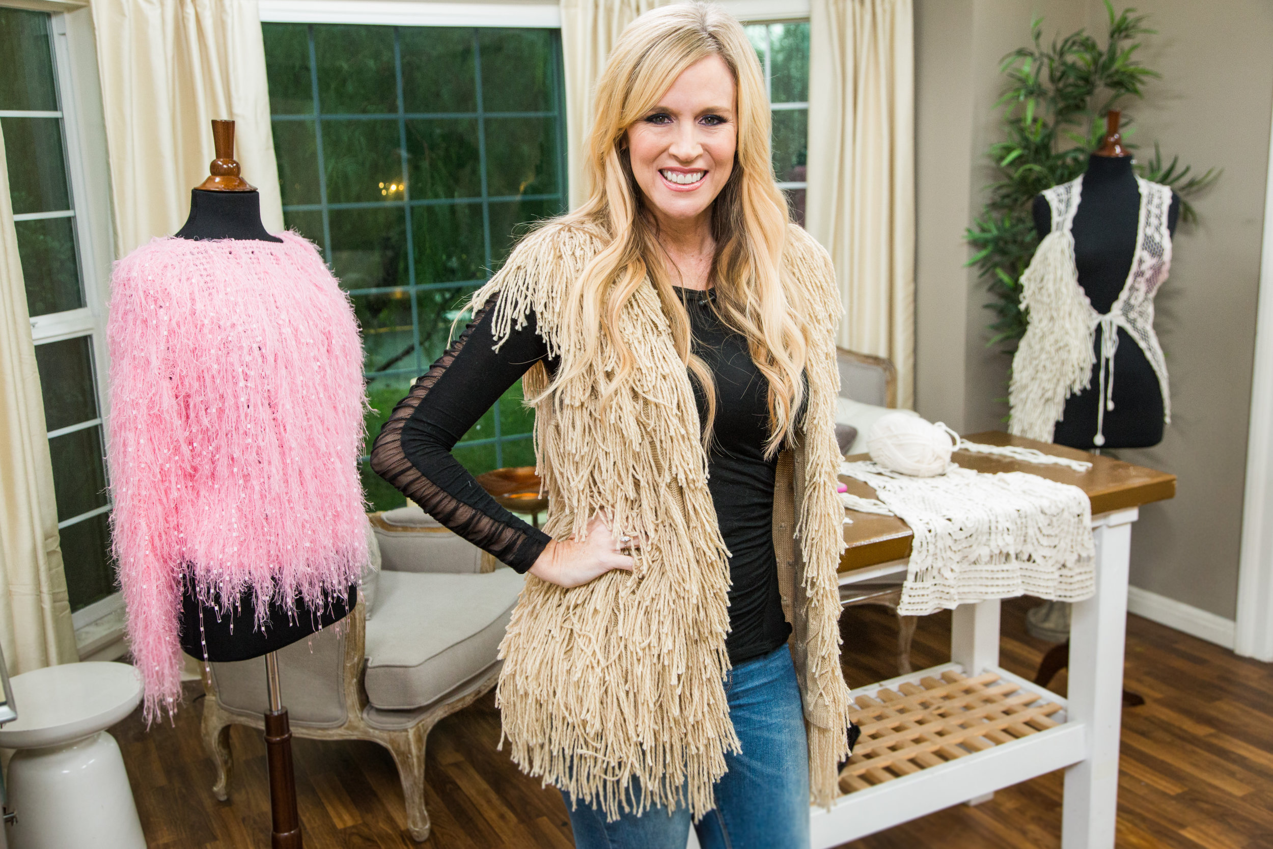 How To - DIY Shaggy Sweater Vest | Home & Family | Hallmark Channel