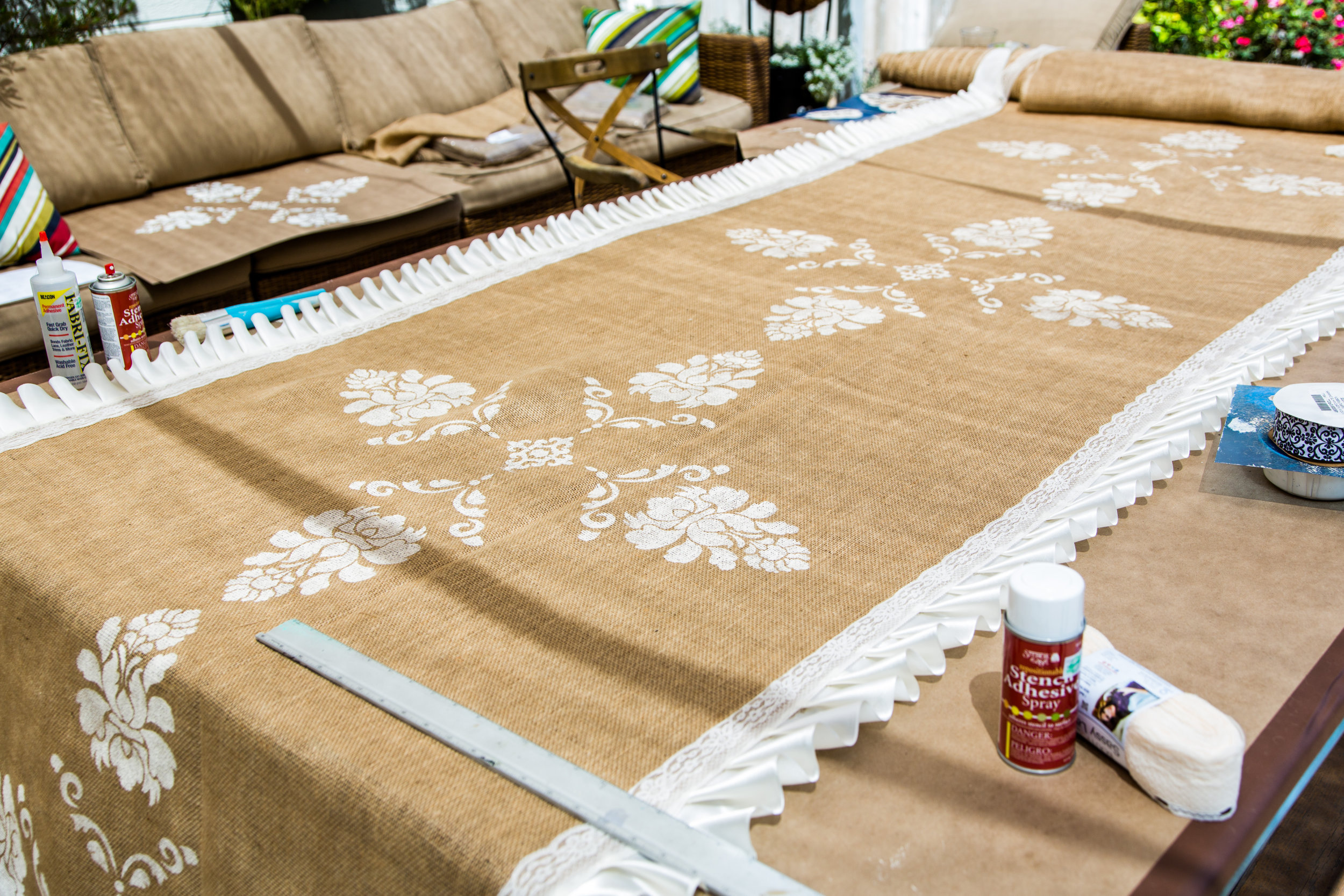 diy burlap aisle wedding runner hallmark channel
