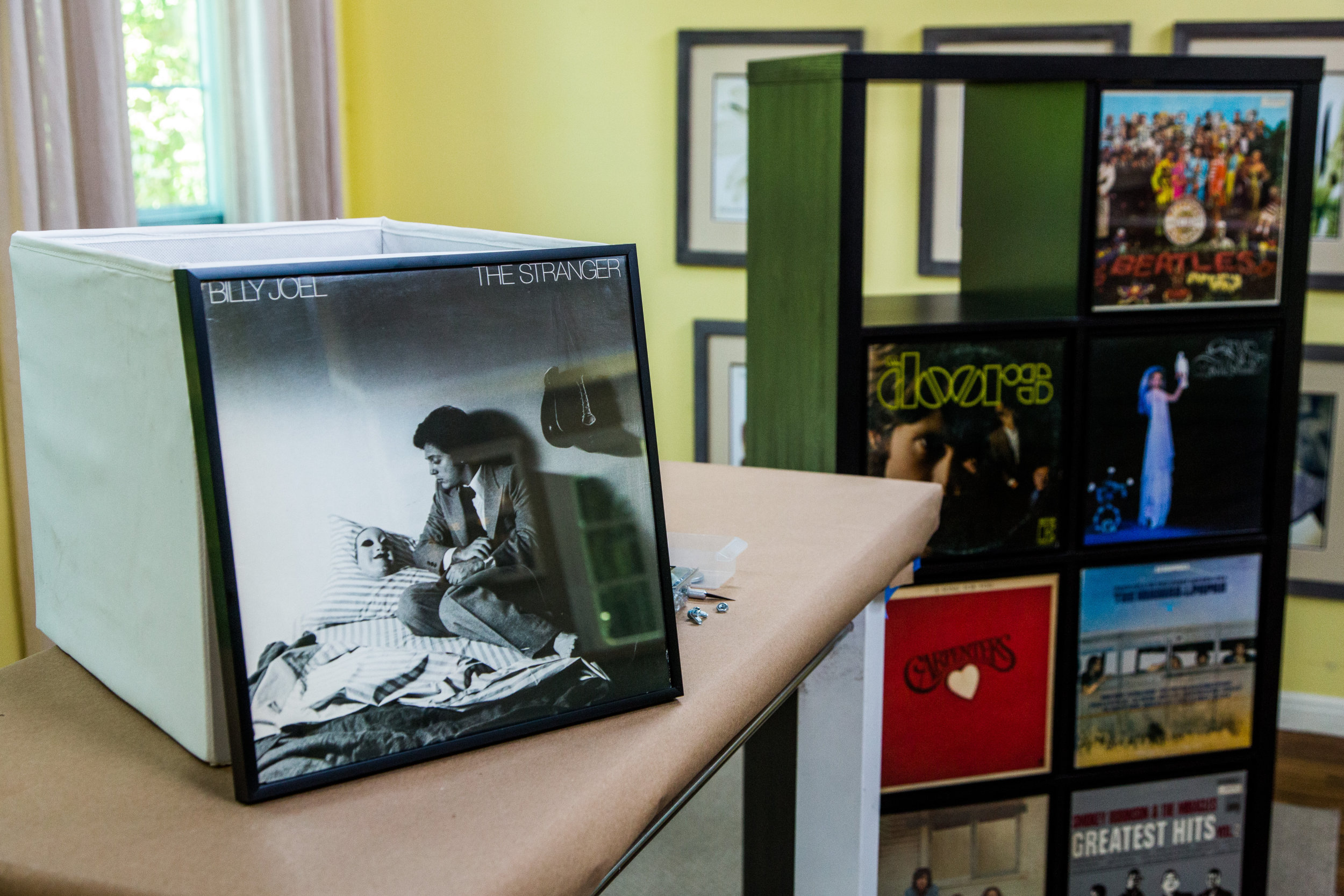 How To Paige S Diy Vinyl Record Bookshelf Home Family Hallmark Channel