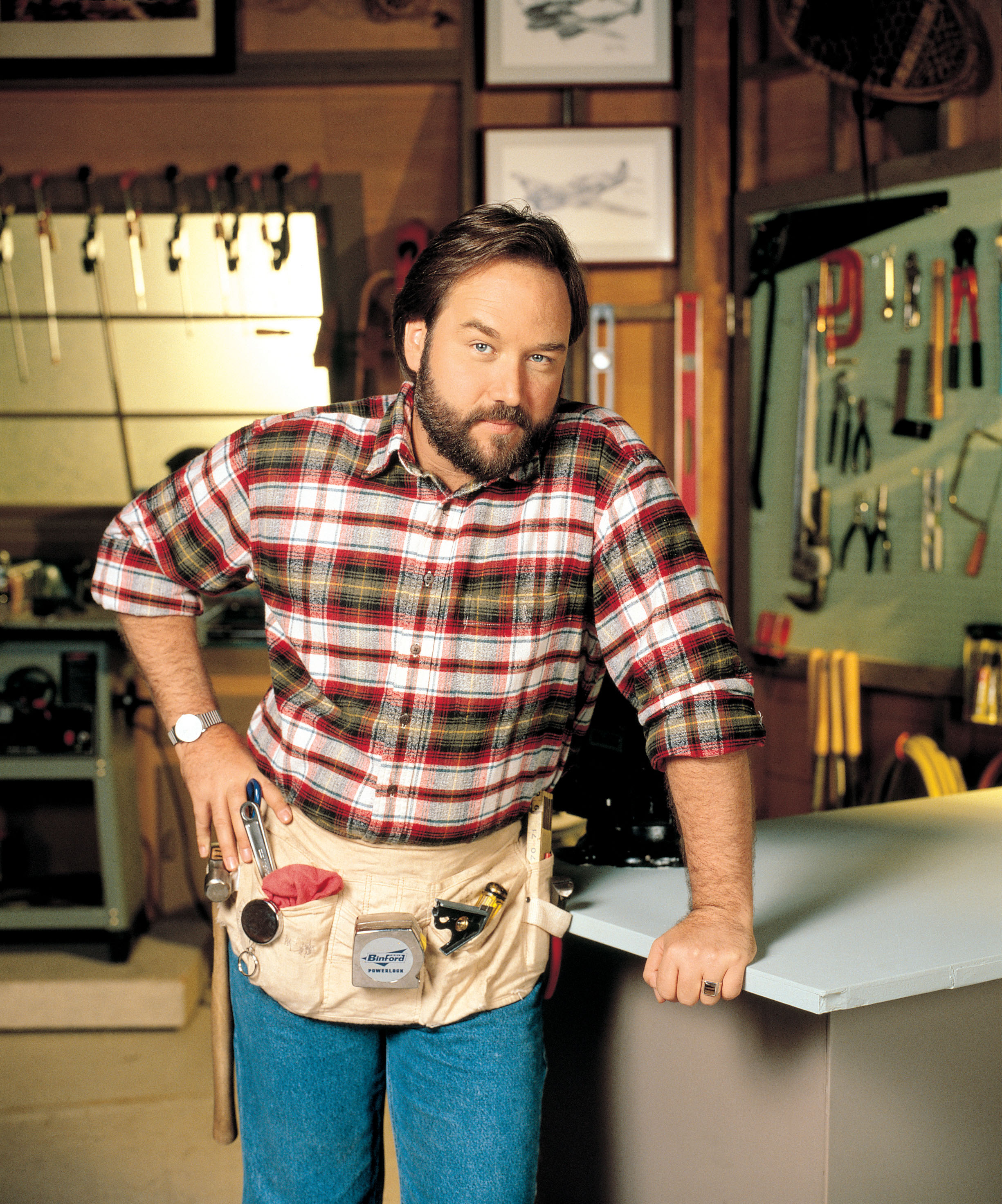 Richard karn as al on home improvement hallmark channel for Home improvement pics