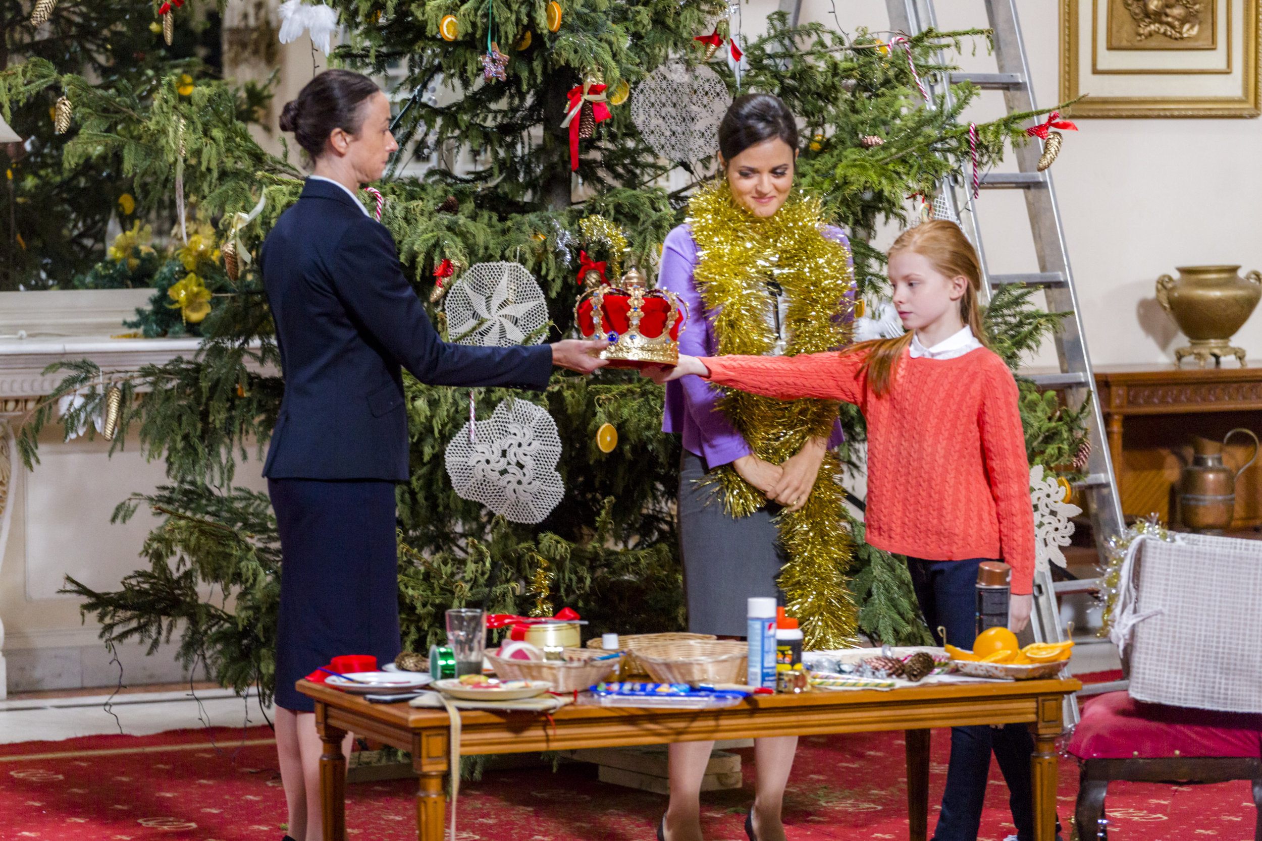 Video - Crown For Christmas | Hallmark Channel