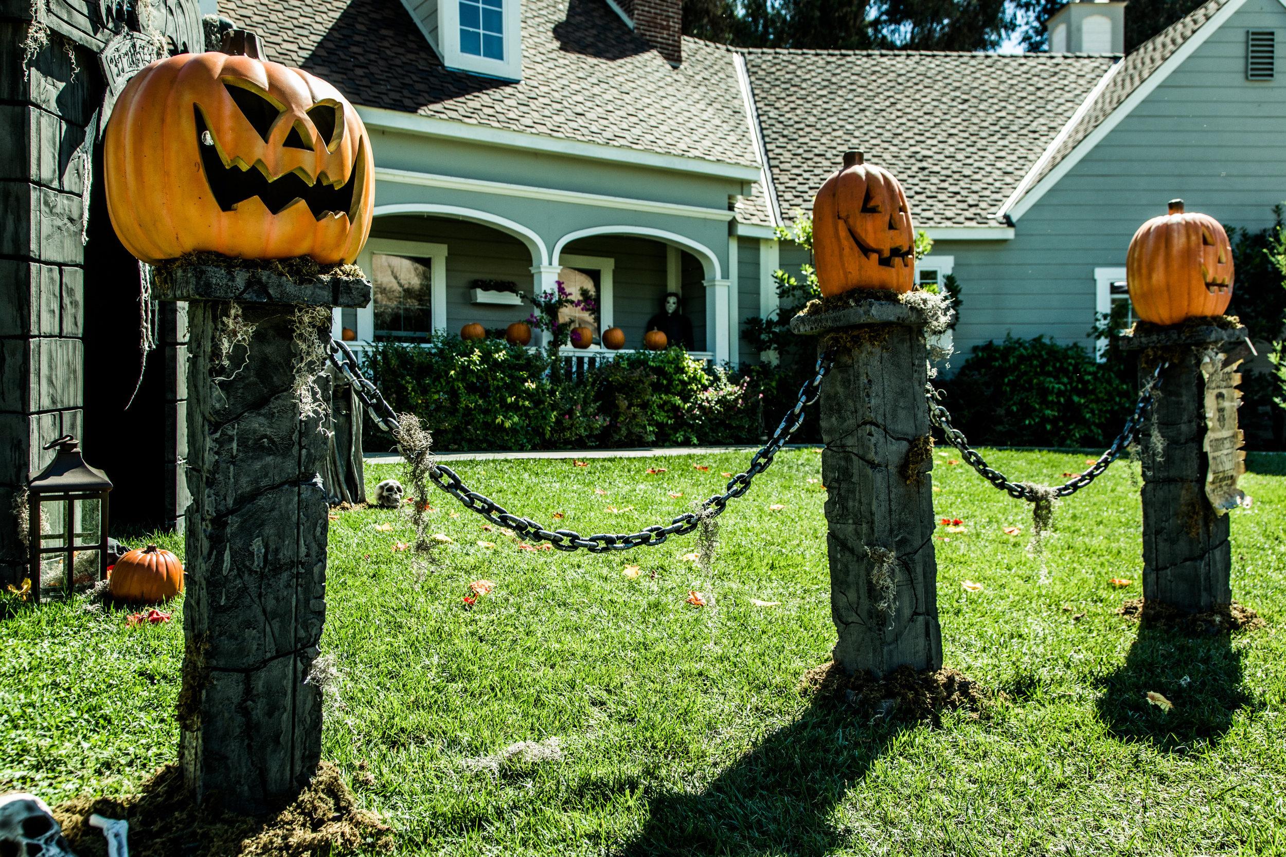 How To Diy Pumpkin Fence Pillars Home Amp Family