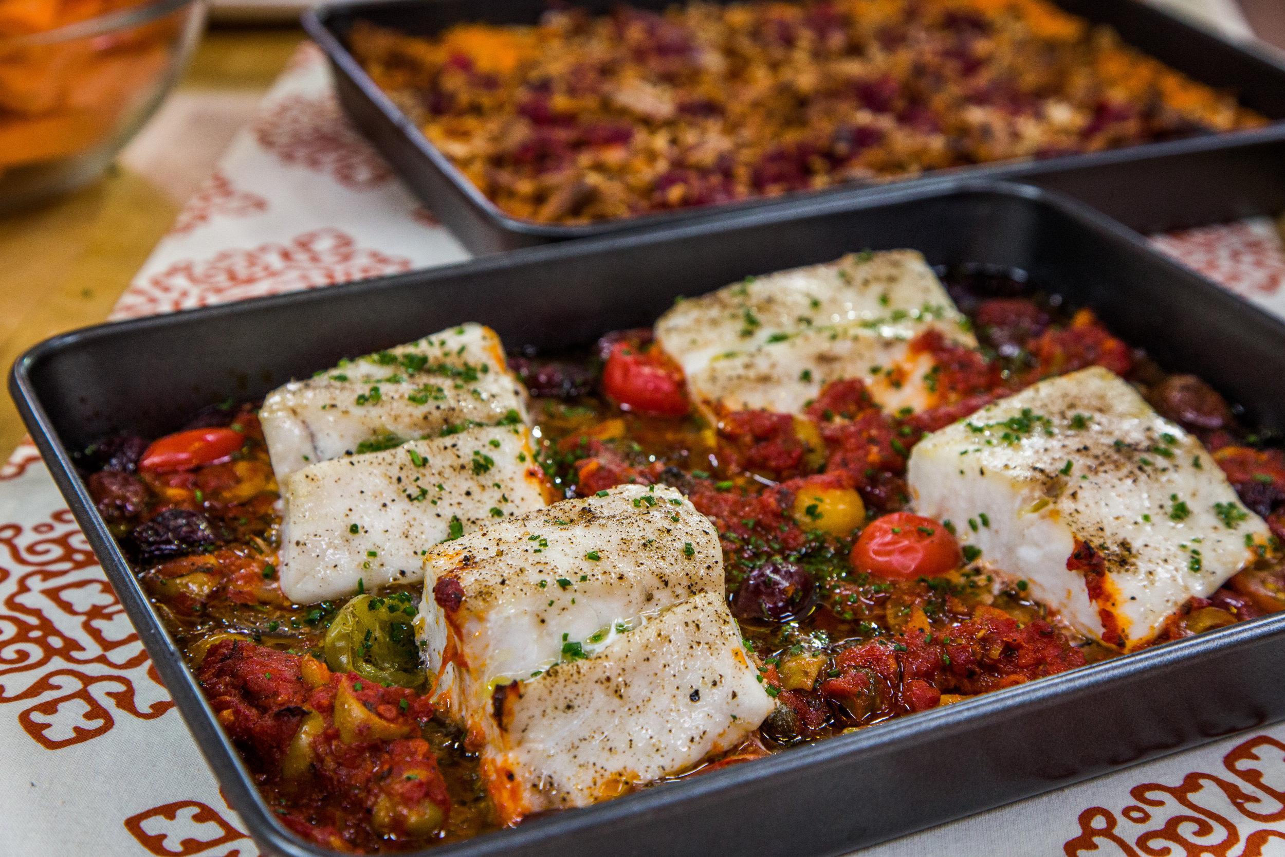 Oven baked snapper fillet recipes for Fish veracruz recipe