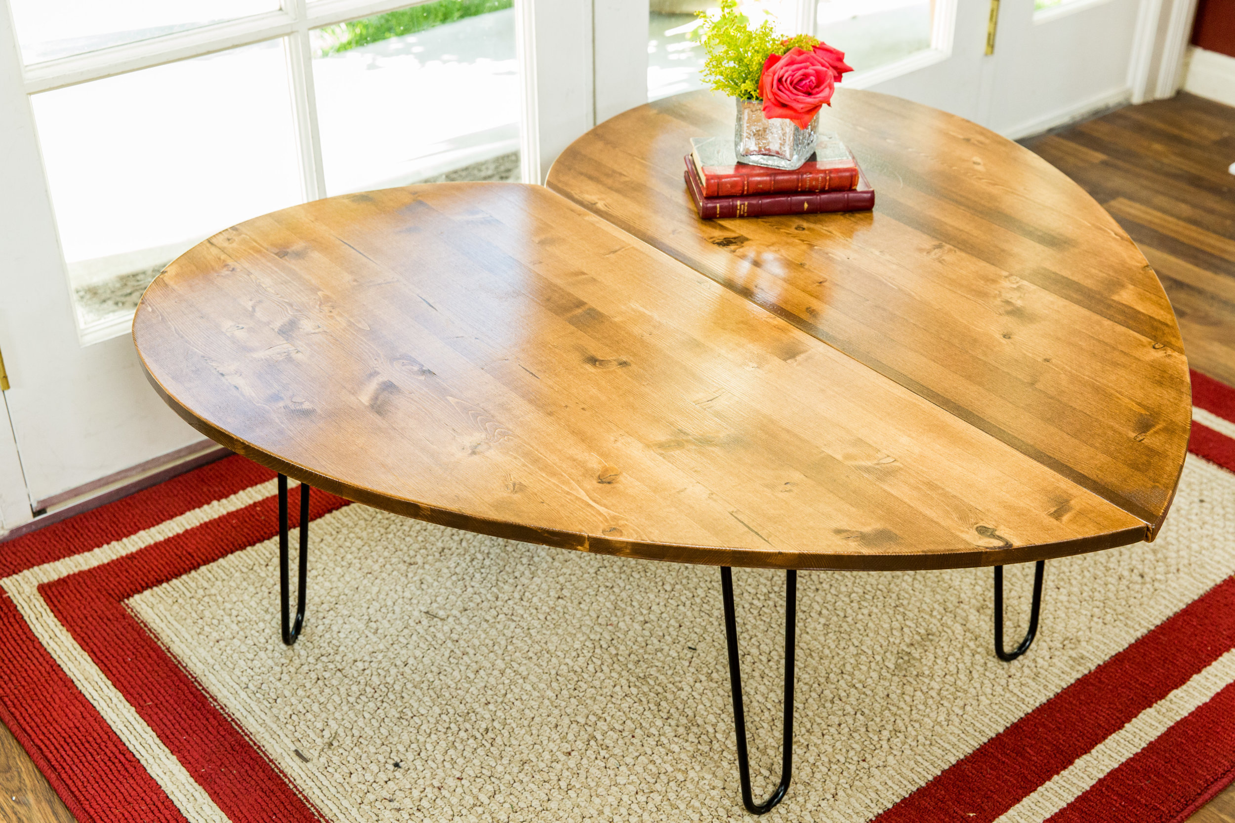 How To   DIY Heart Shaped Side Table | Home U0026 Family | Hallmark Channel