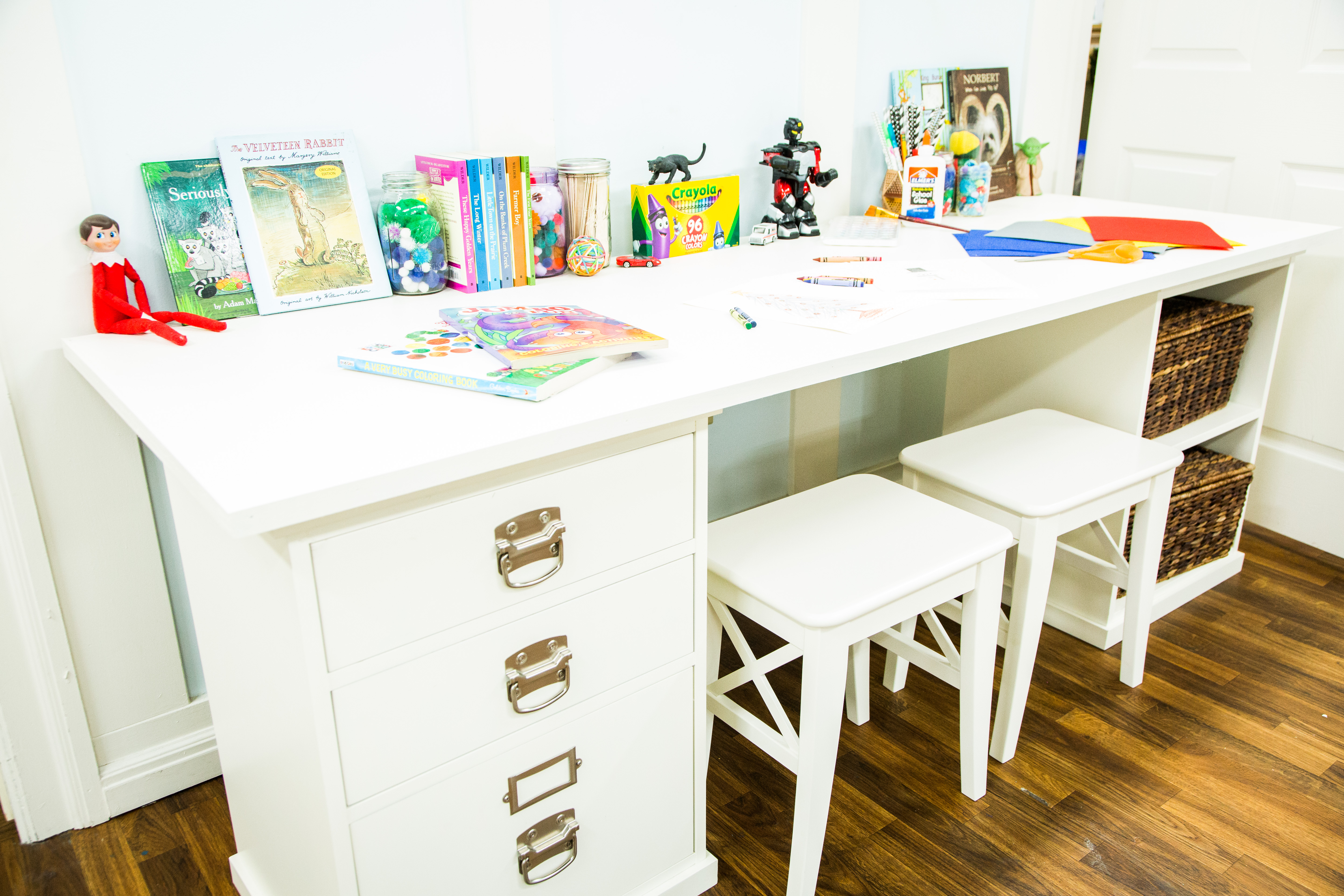 diy kids craft table home family hallmark channel