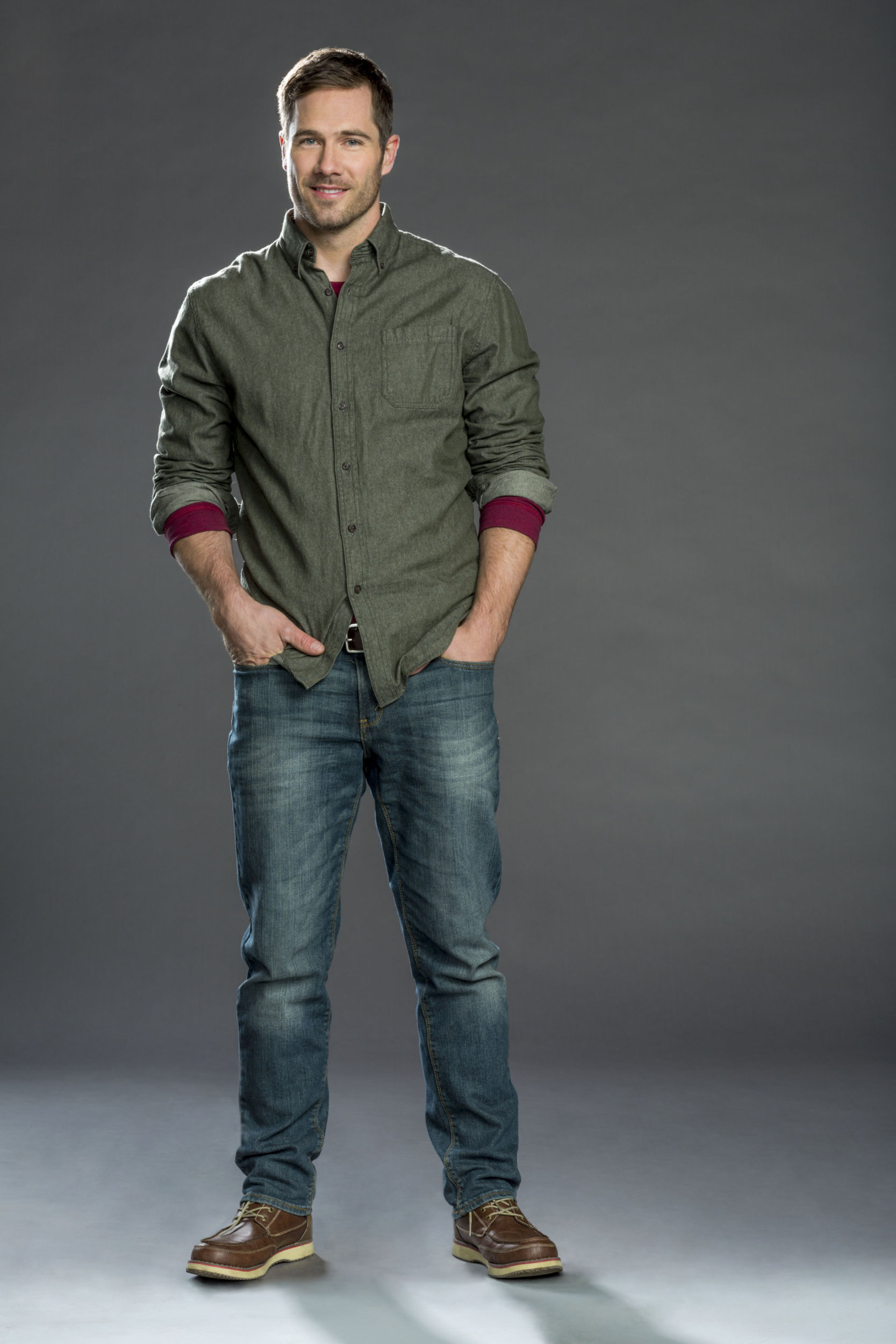 Luke Macfarlane as Tucker Martin on Christmas Land | Hallmark Channel