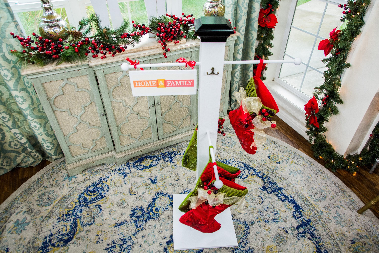 Diy christmas stocking hanging post home family hallmark channel solutioingenieria Choice Image