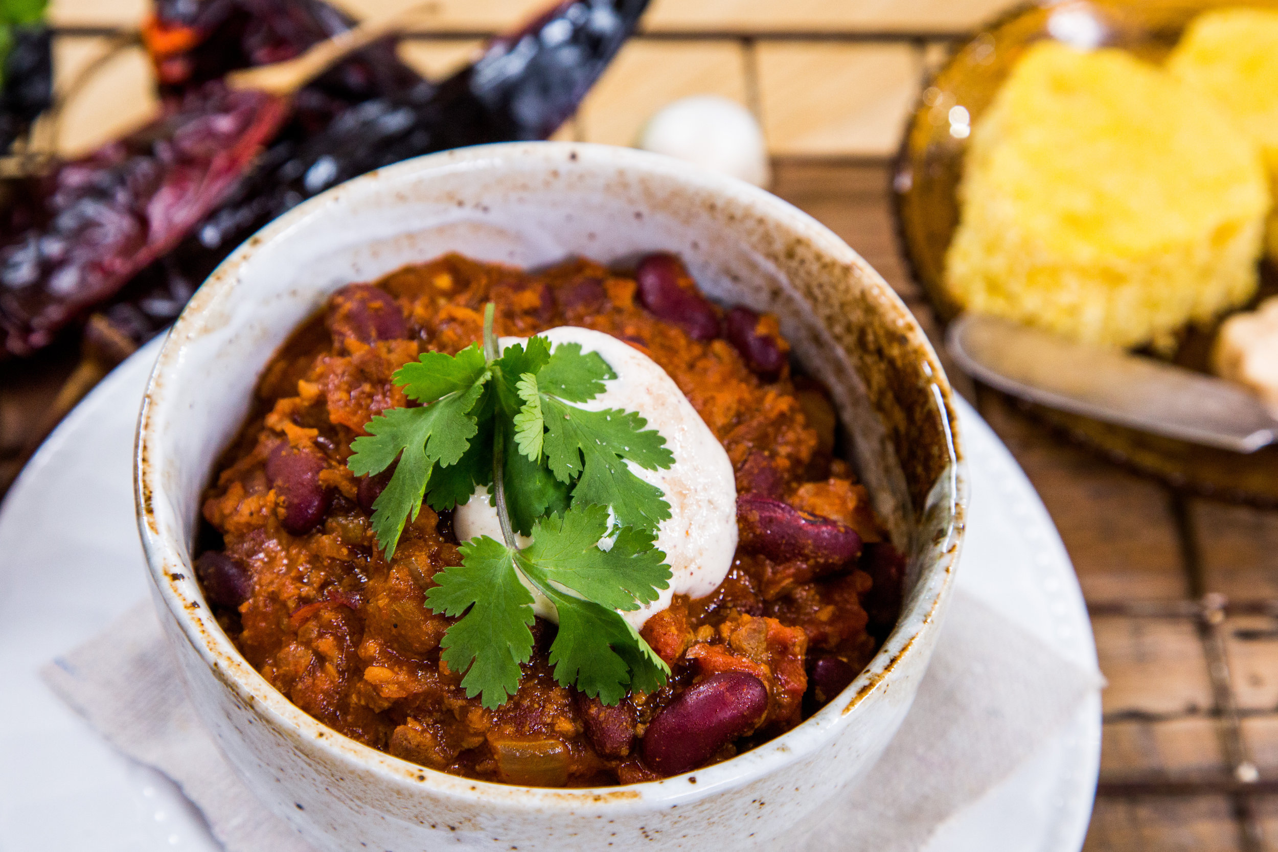 Recipes video hallmark channel southern vegetarian chili forumfinder Choice Image