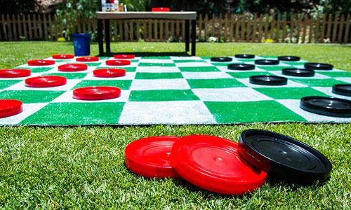 Jessie Jane S Giant Lawn Checkers Hallmark Channel
