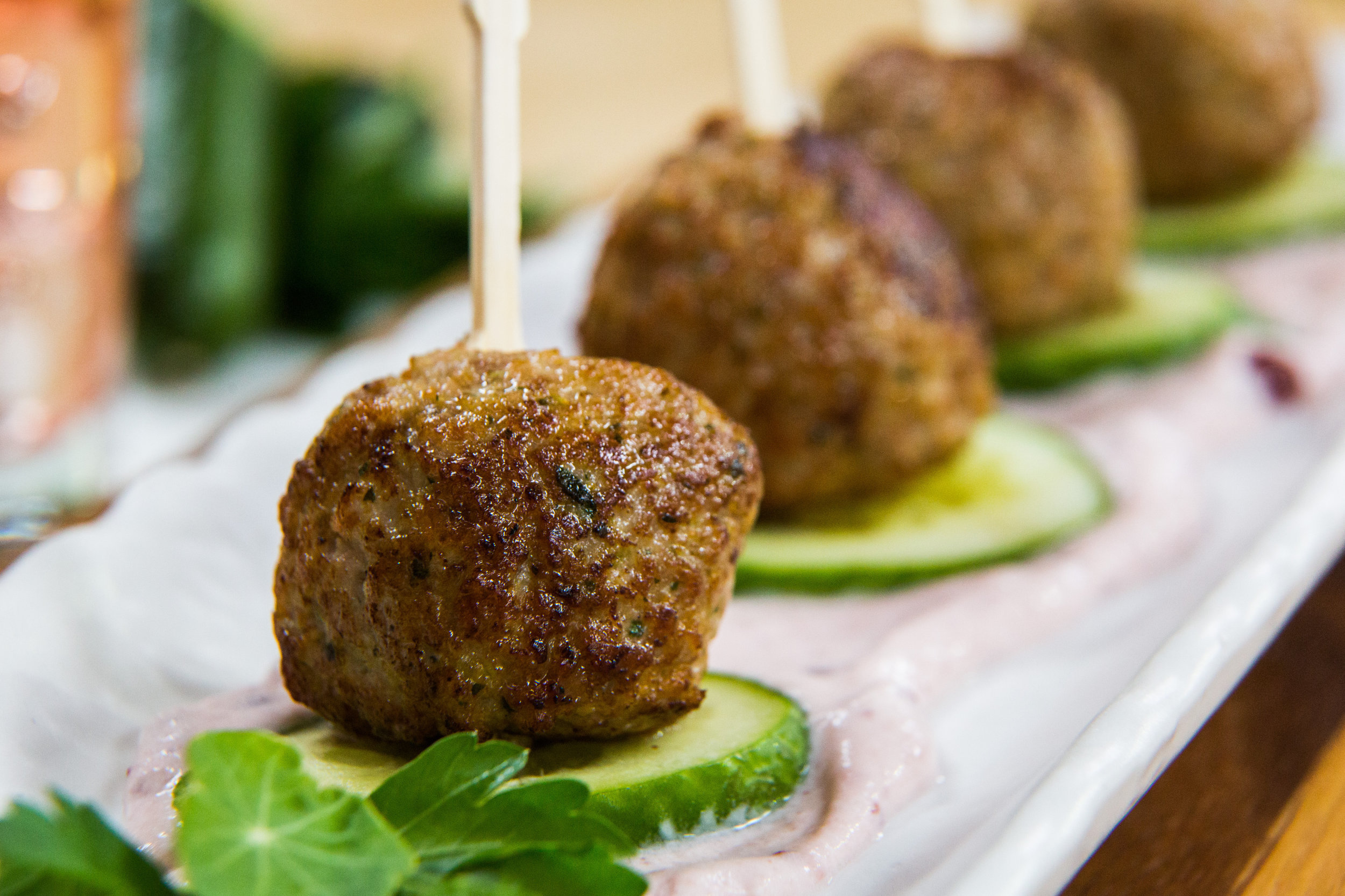 recipe gluten free turkey meatballs with lingonberry creme