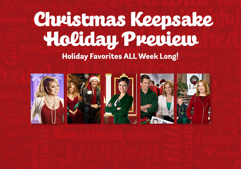 Movie Schedule Christmas Keepsake Holiday Preview
