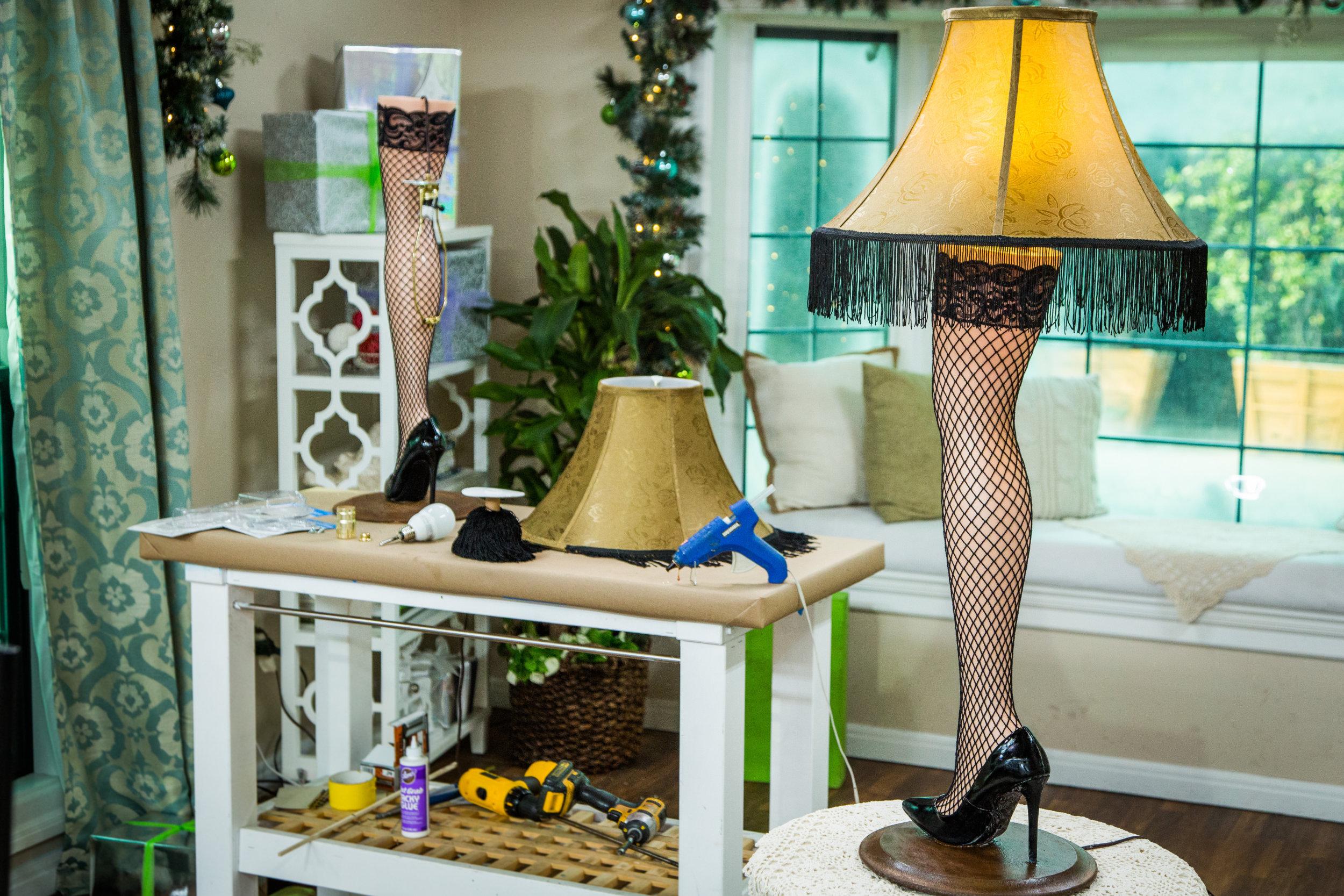 How To Diy Leg Lamp Home Amp Family Hallmark Channel
