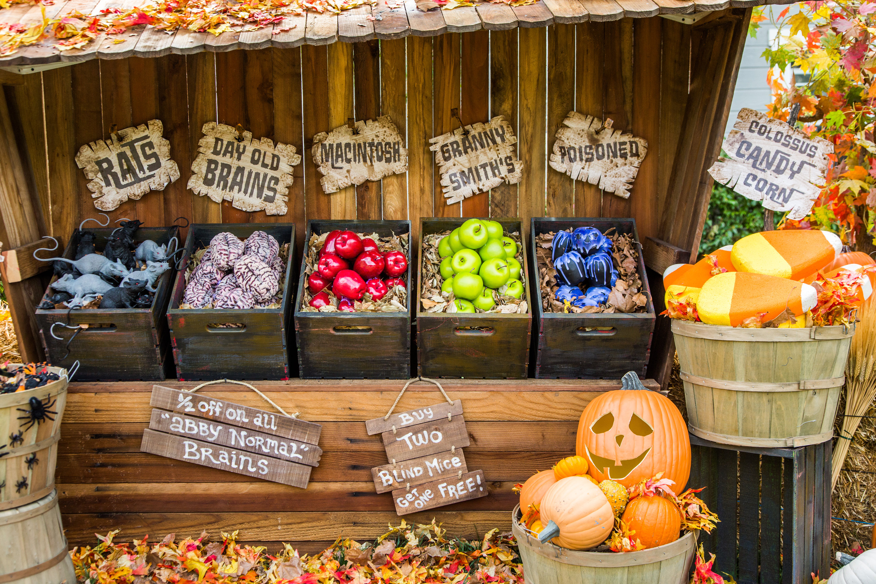 How to farmer frightful s tricks or treats market stand