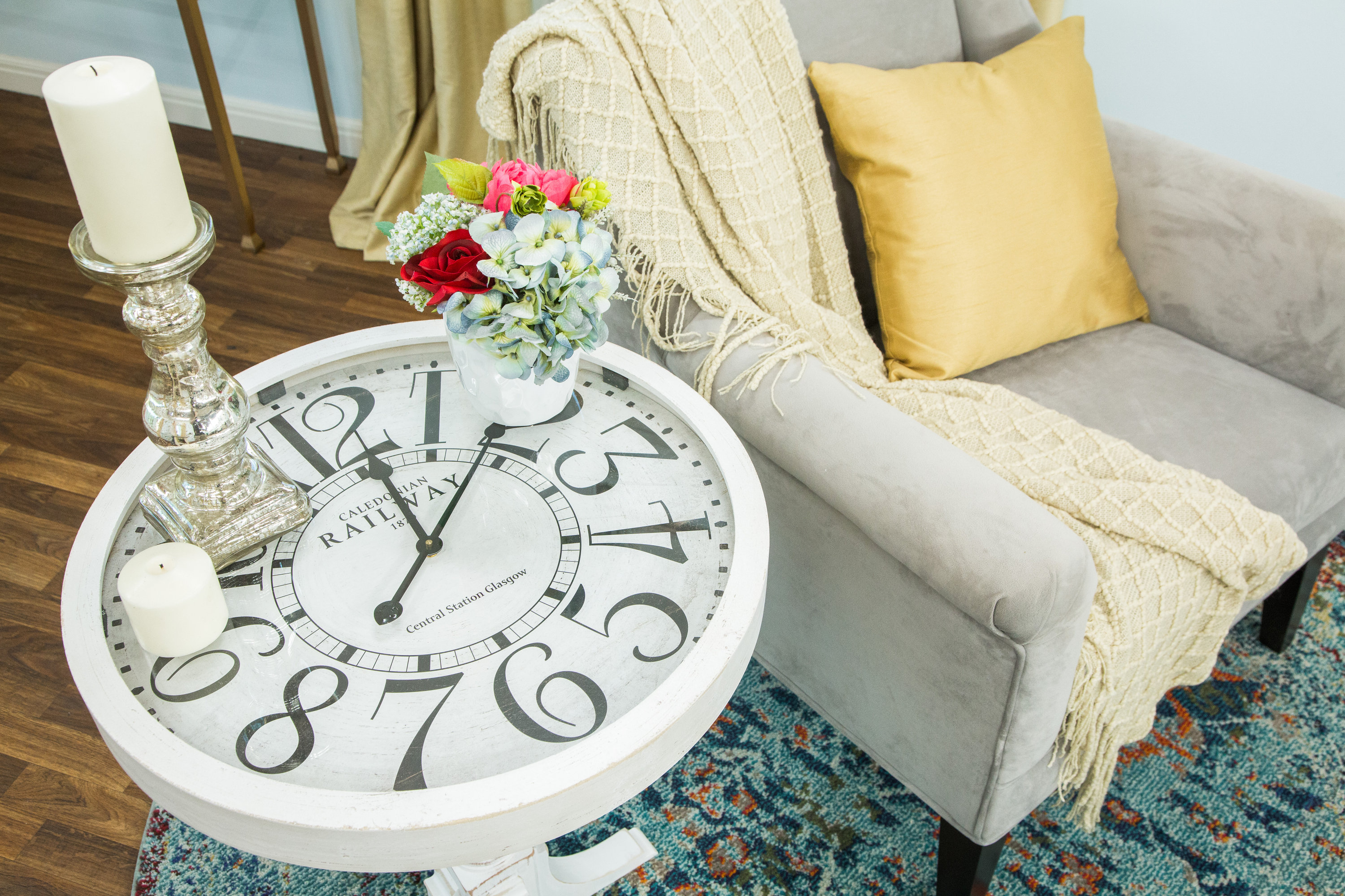 Diy Clock How To Home Family Diy Clock End Table Hallmark Channel
